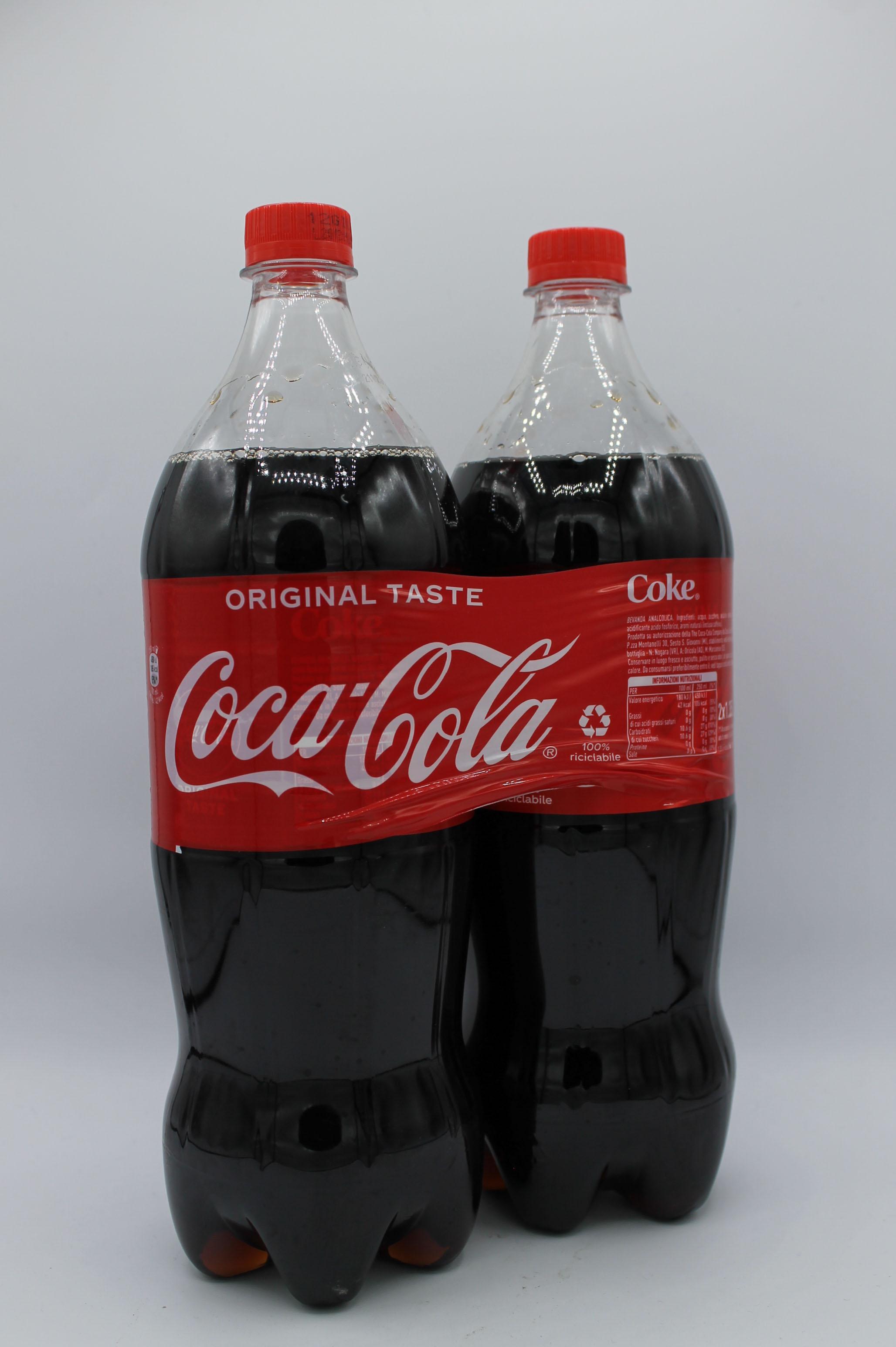Coca cola bipack 2x1,35lt vari tipi.