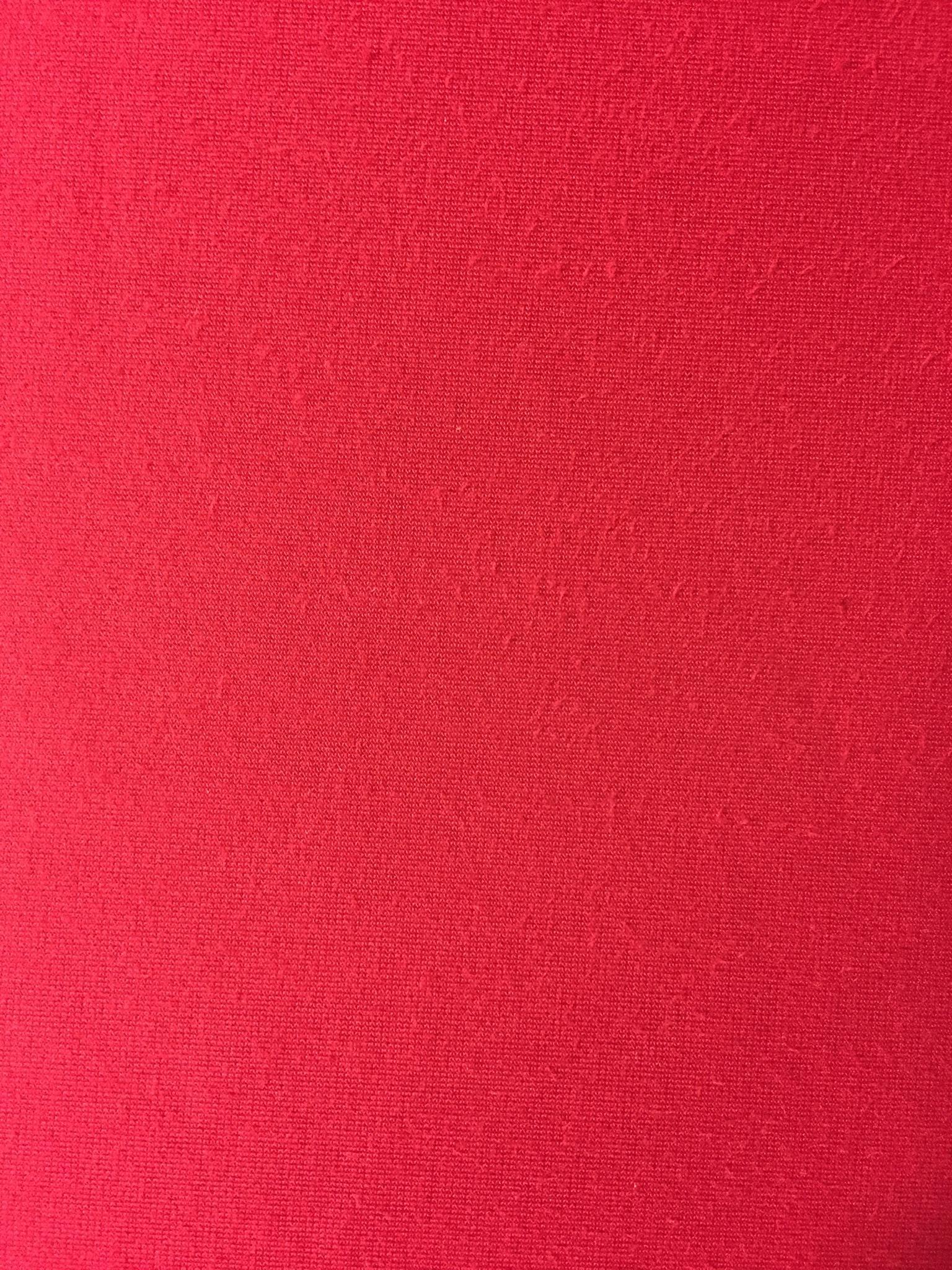 Velluto liscio rosso
