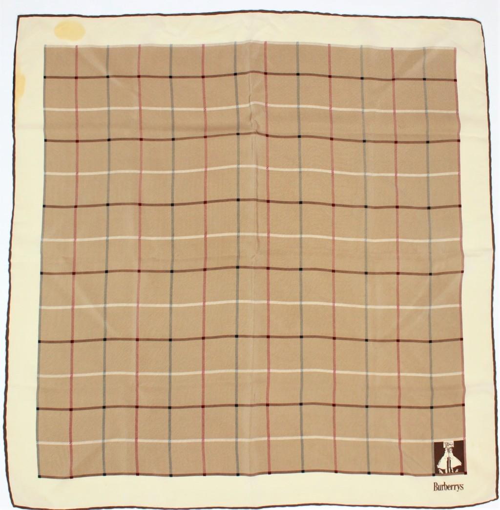 Burberrys - Foulard seta