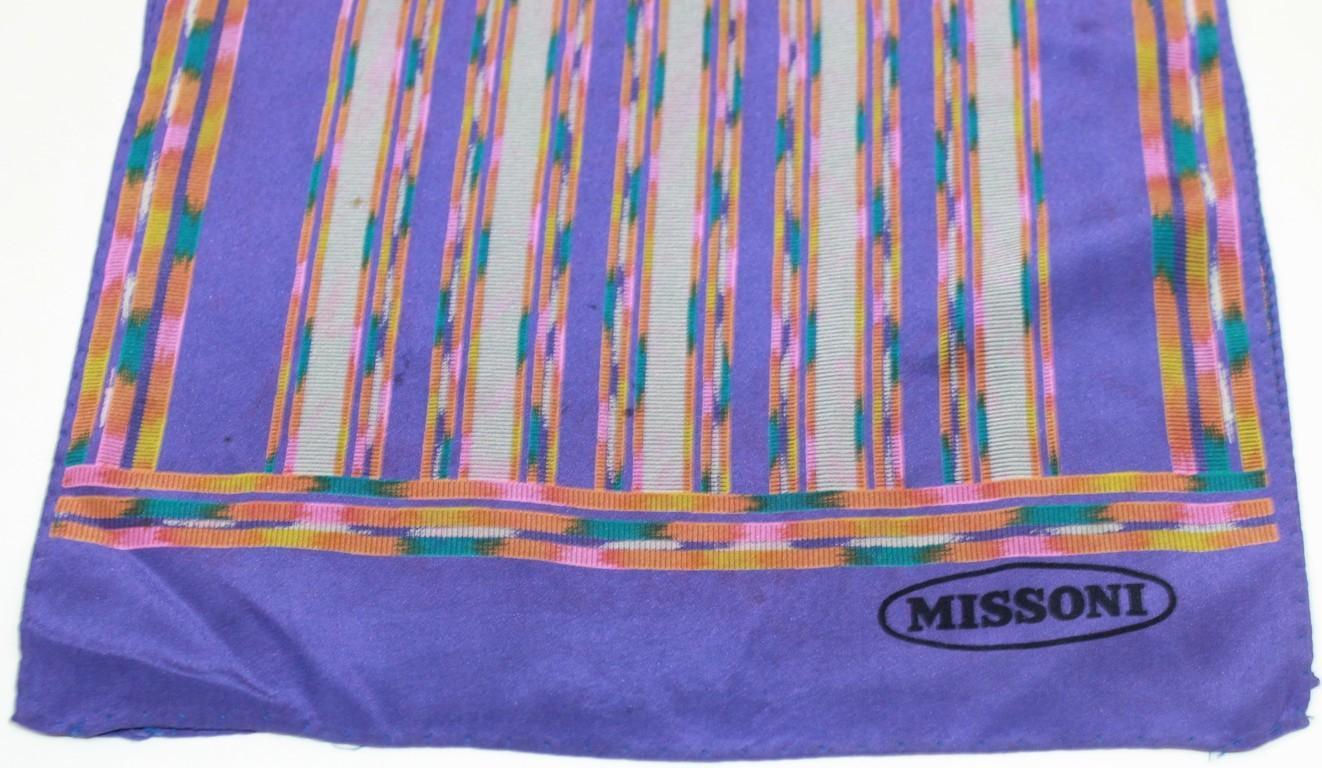 Missoni - Foulard seta