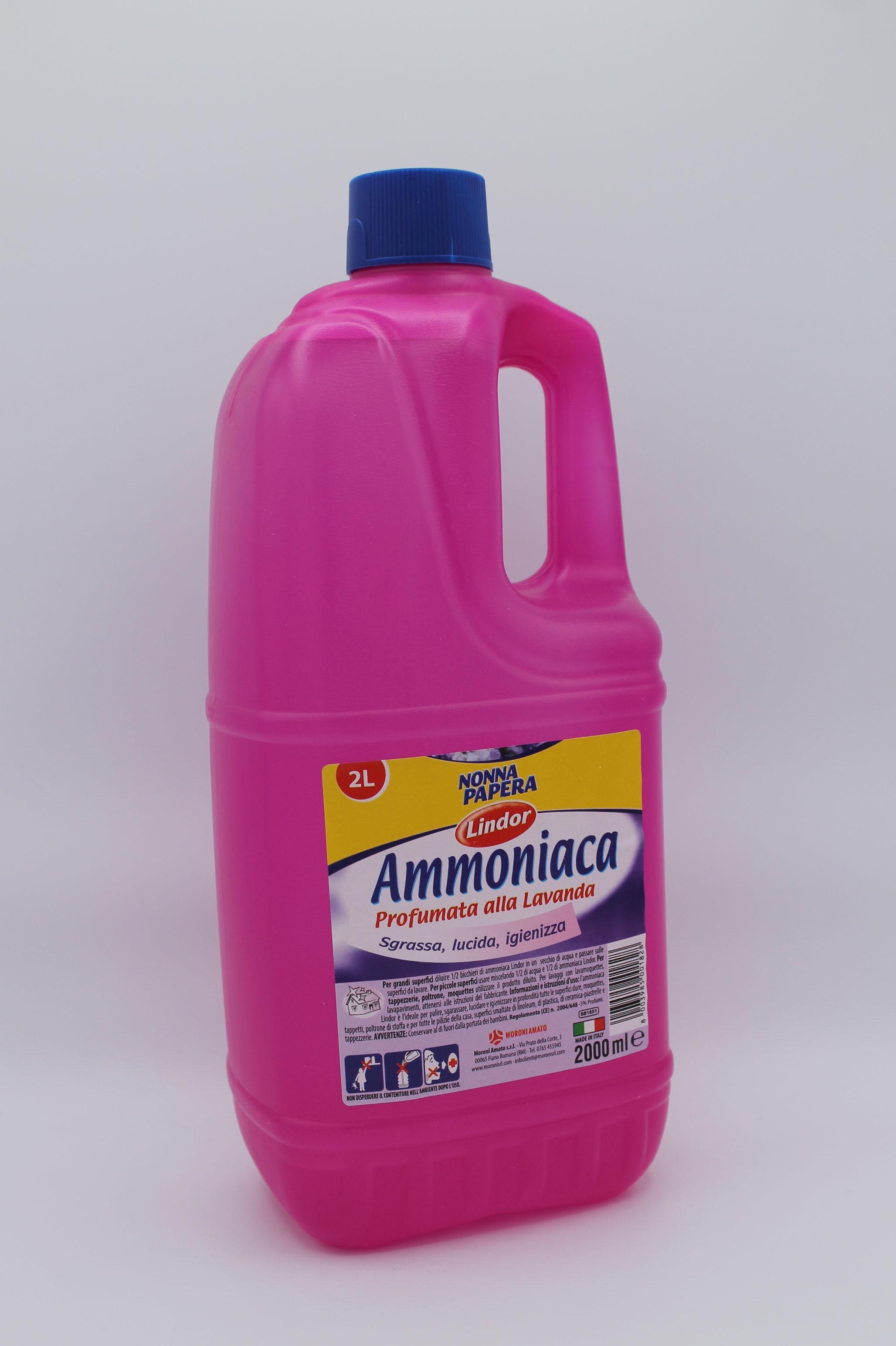 Moroni ammoniaca 2lt varie profumazioni