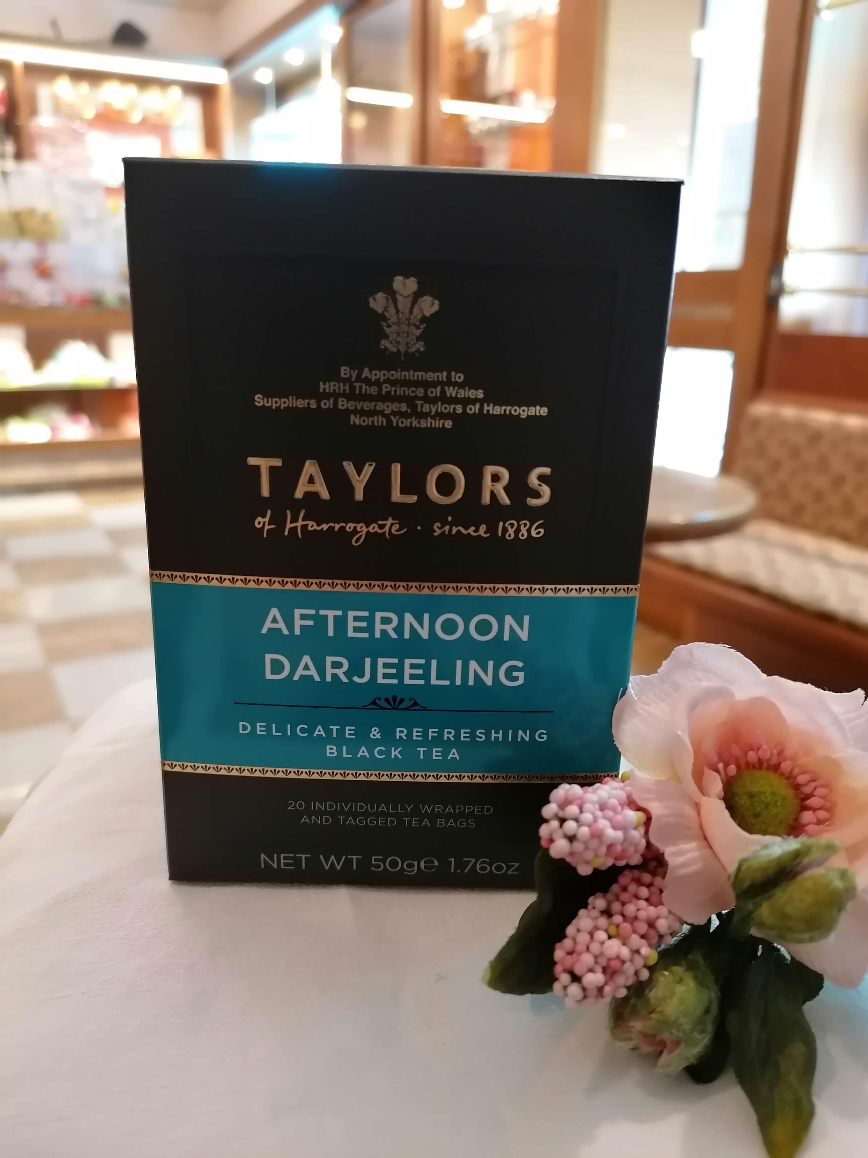 TE' AFTERNOON DARJEELING 50gr