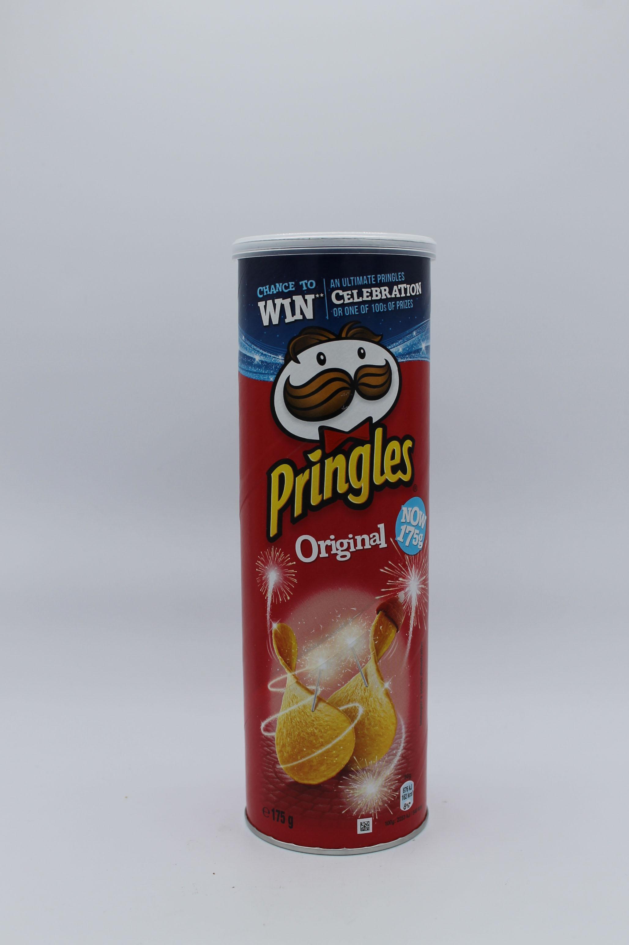 Pringles tubo 175gr vari gusti.