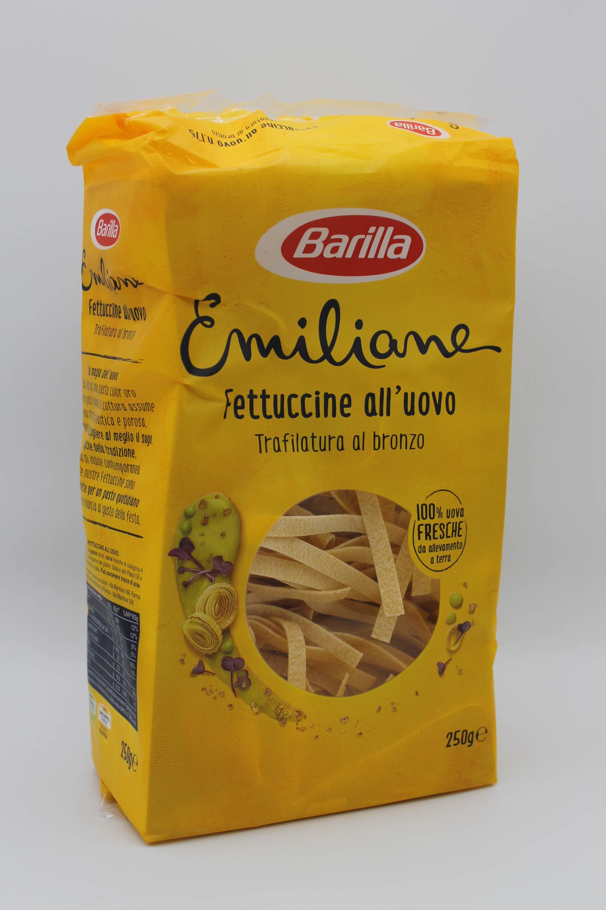Barilla pasta uovo 250gr assortita.