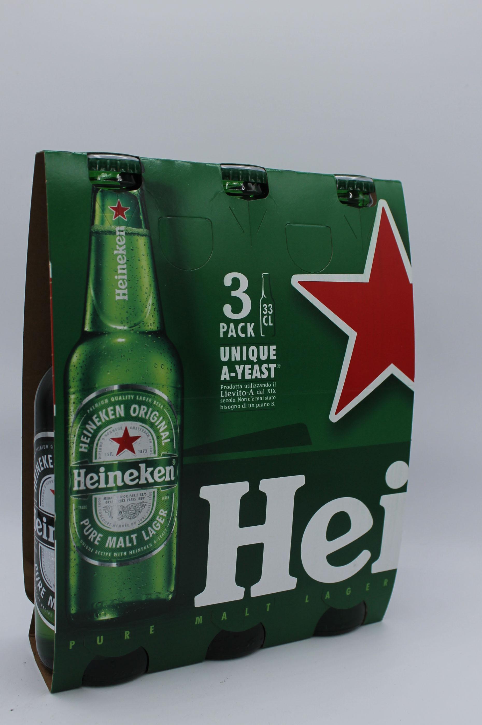 Heineken birra 3x330ml vari gusti.