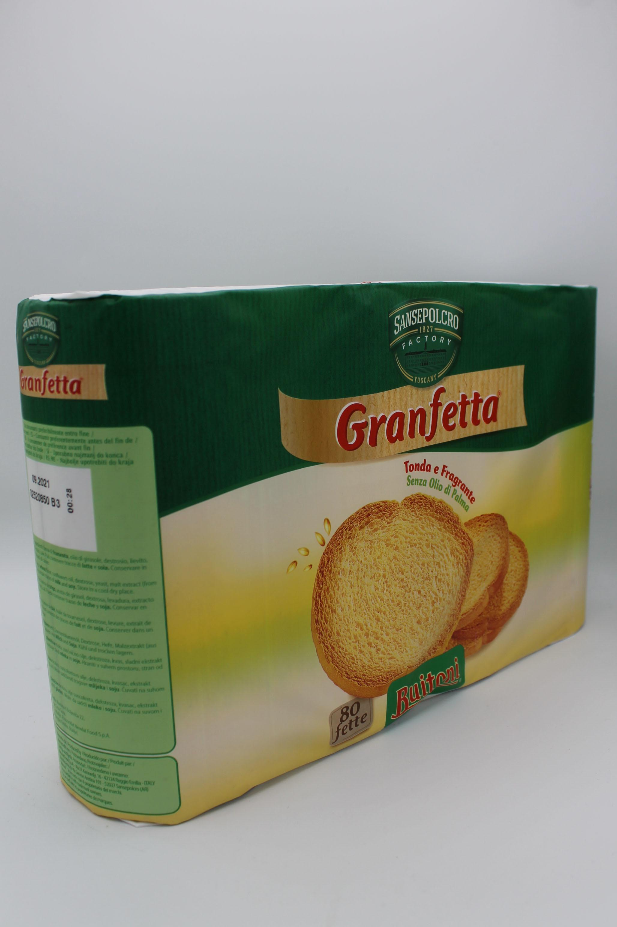 Buitoni fette biscottate 600 gr assortite.