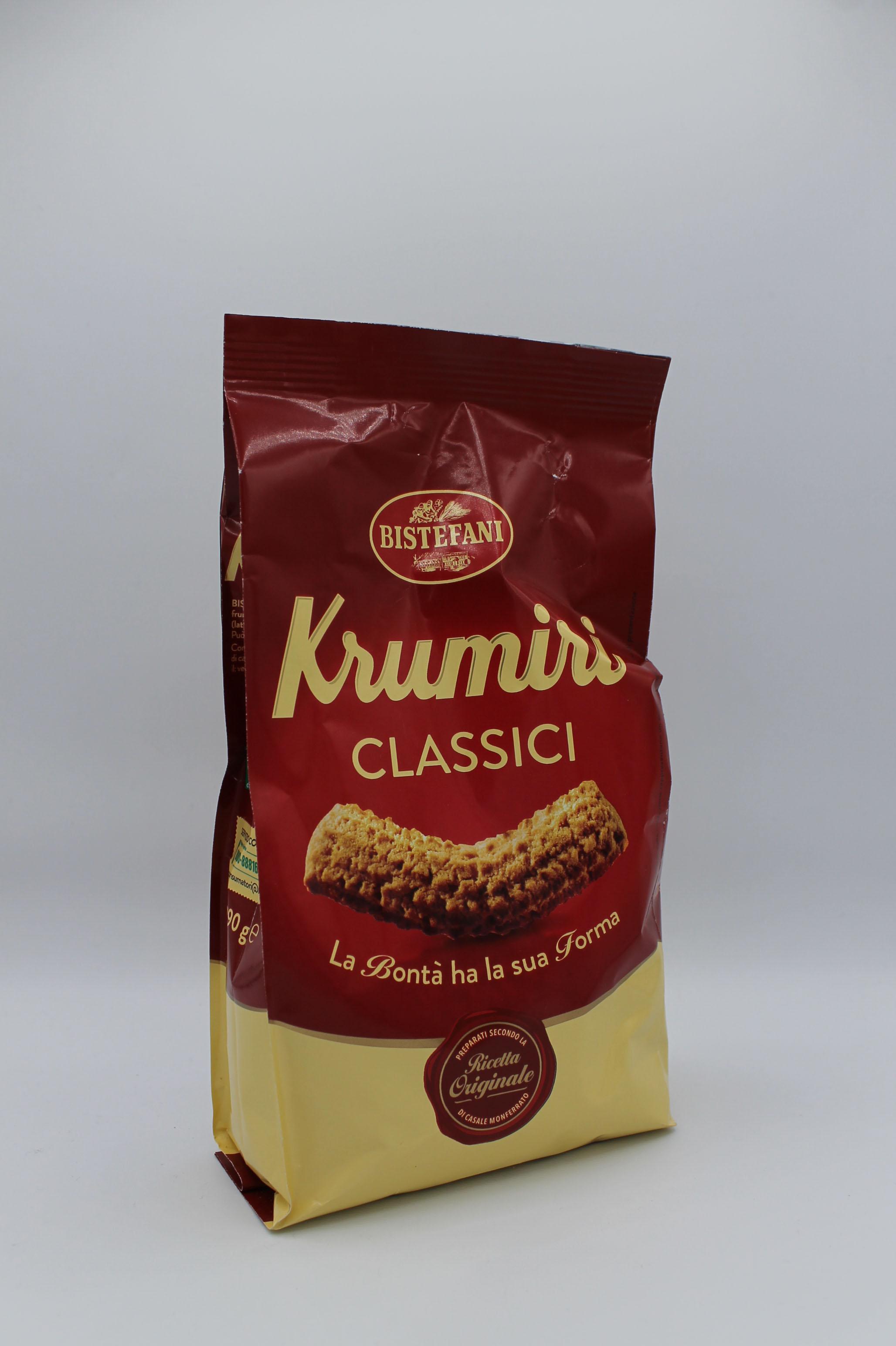 Bistefani biscotti krumiri 290 gr vari gusti.
