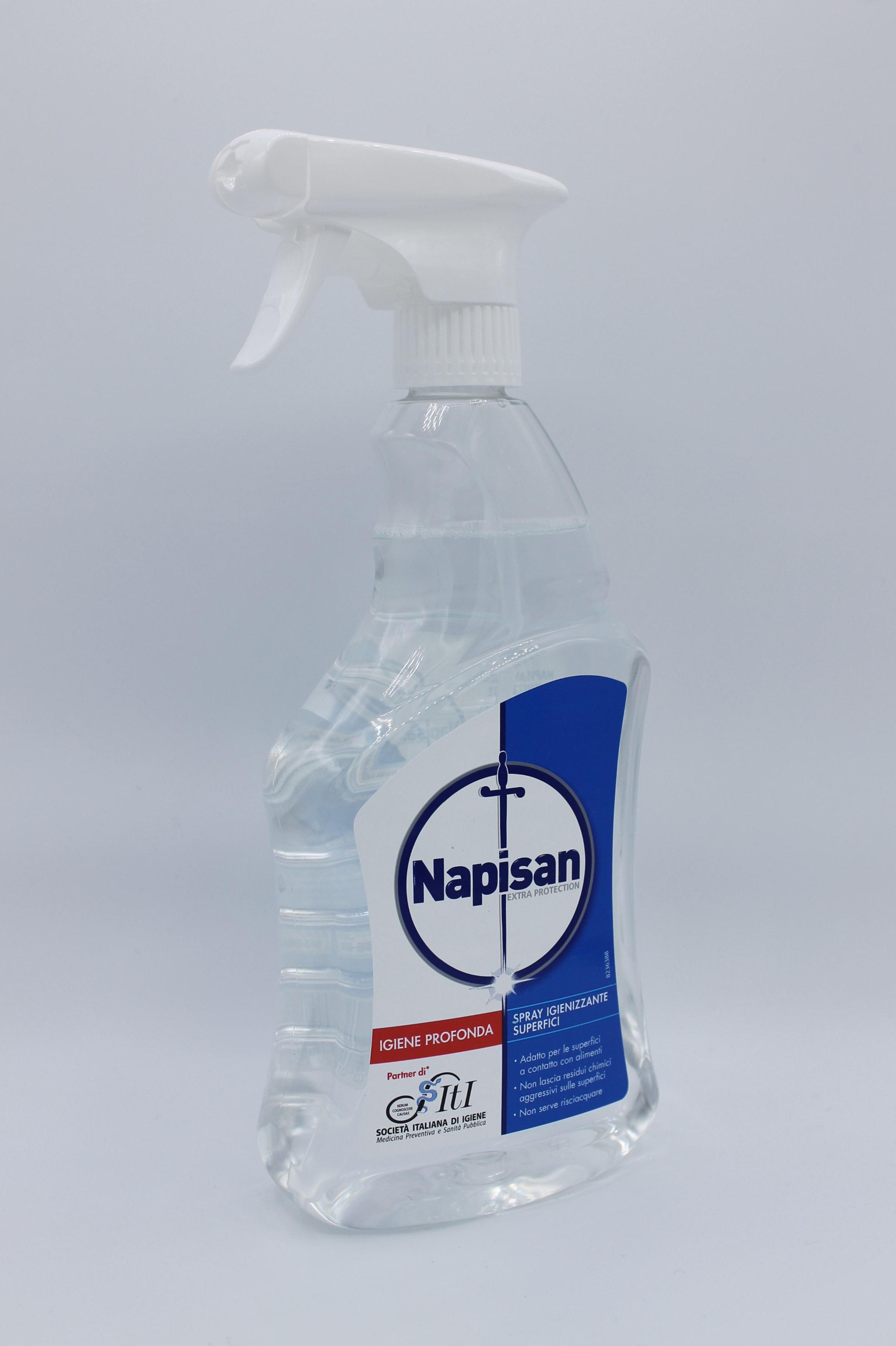 Napisan detergente superfici 750ml varie profumazioni.