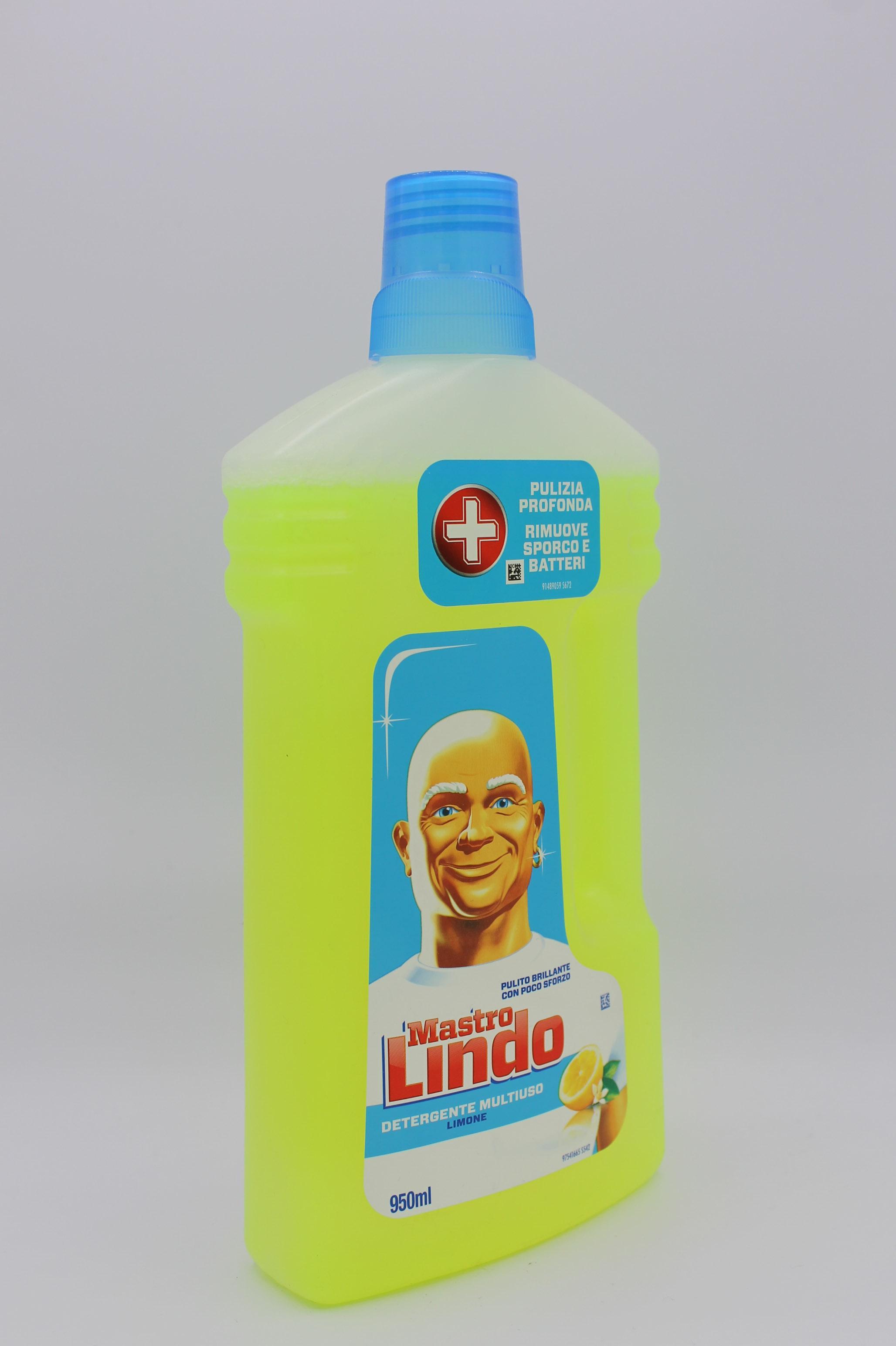 Mastro Lindo detergente liquido 950ml varie profumazioni.