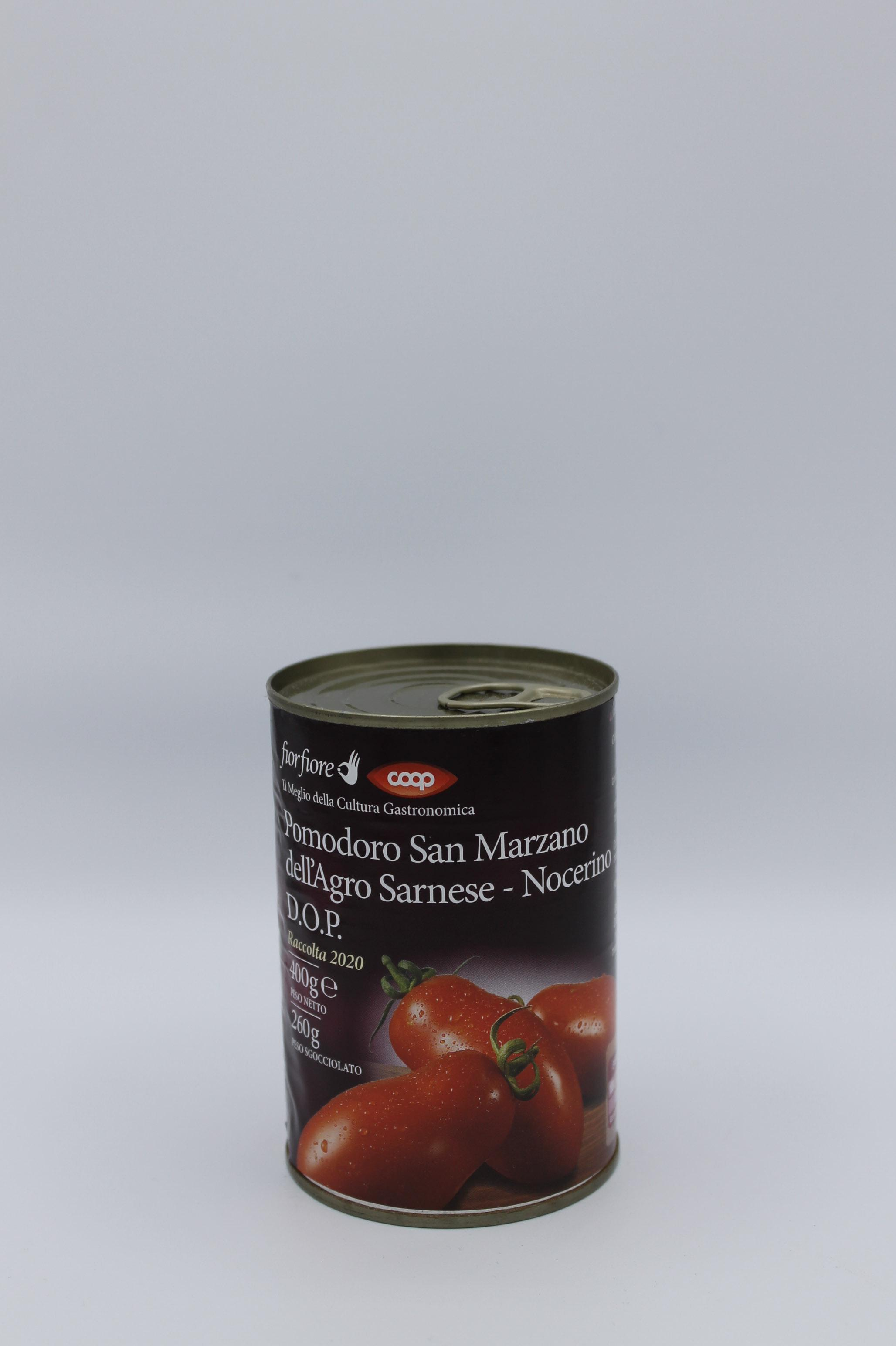 Pomodoro san marzano fior fiore coop 400 gr