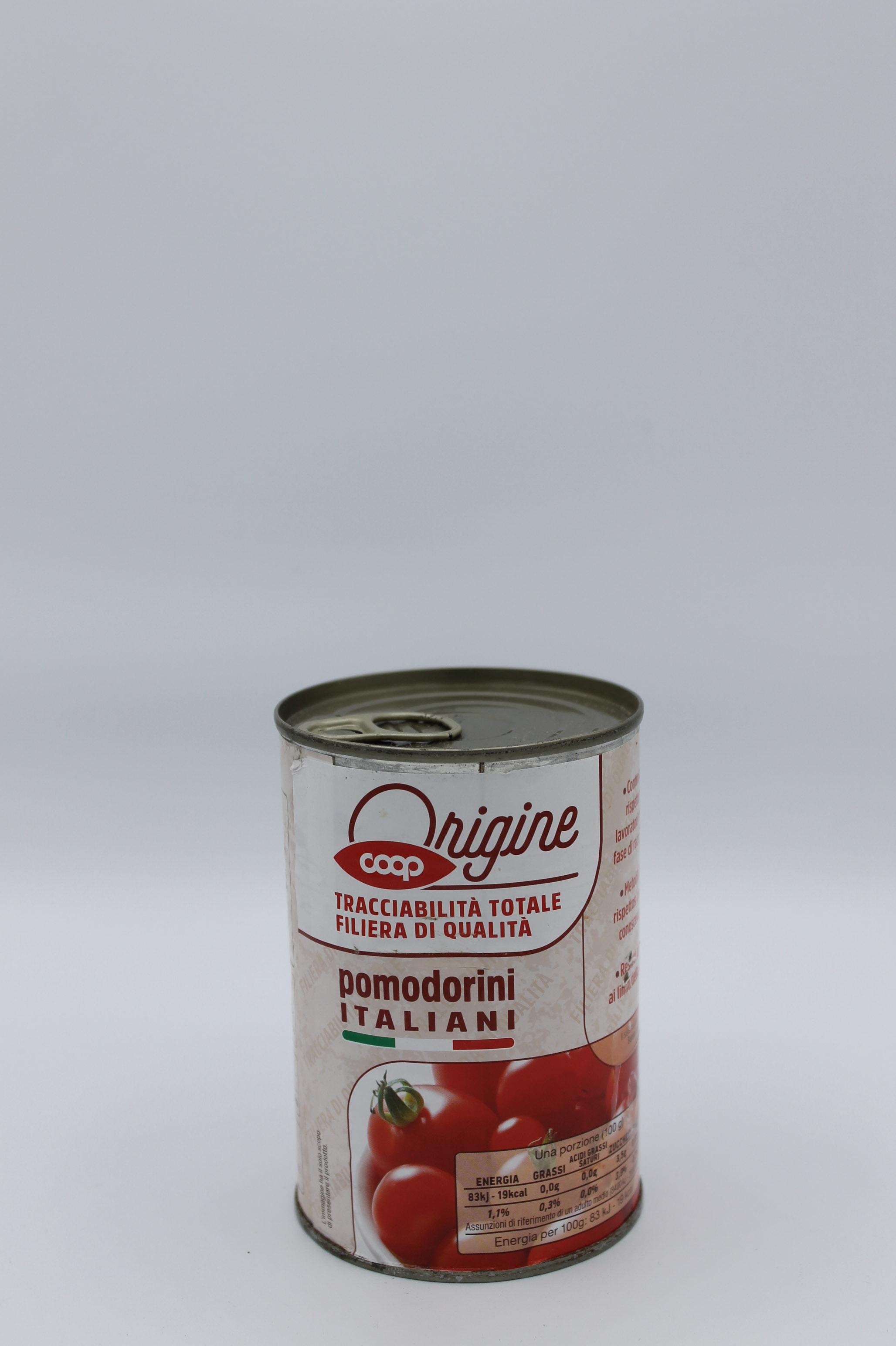 Pomodorini coop barattolo 400 gr.