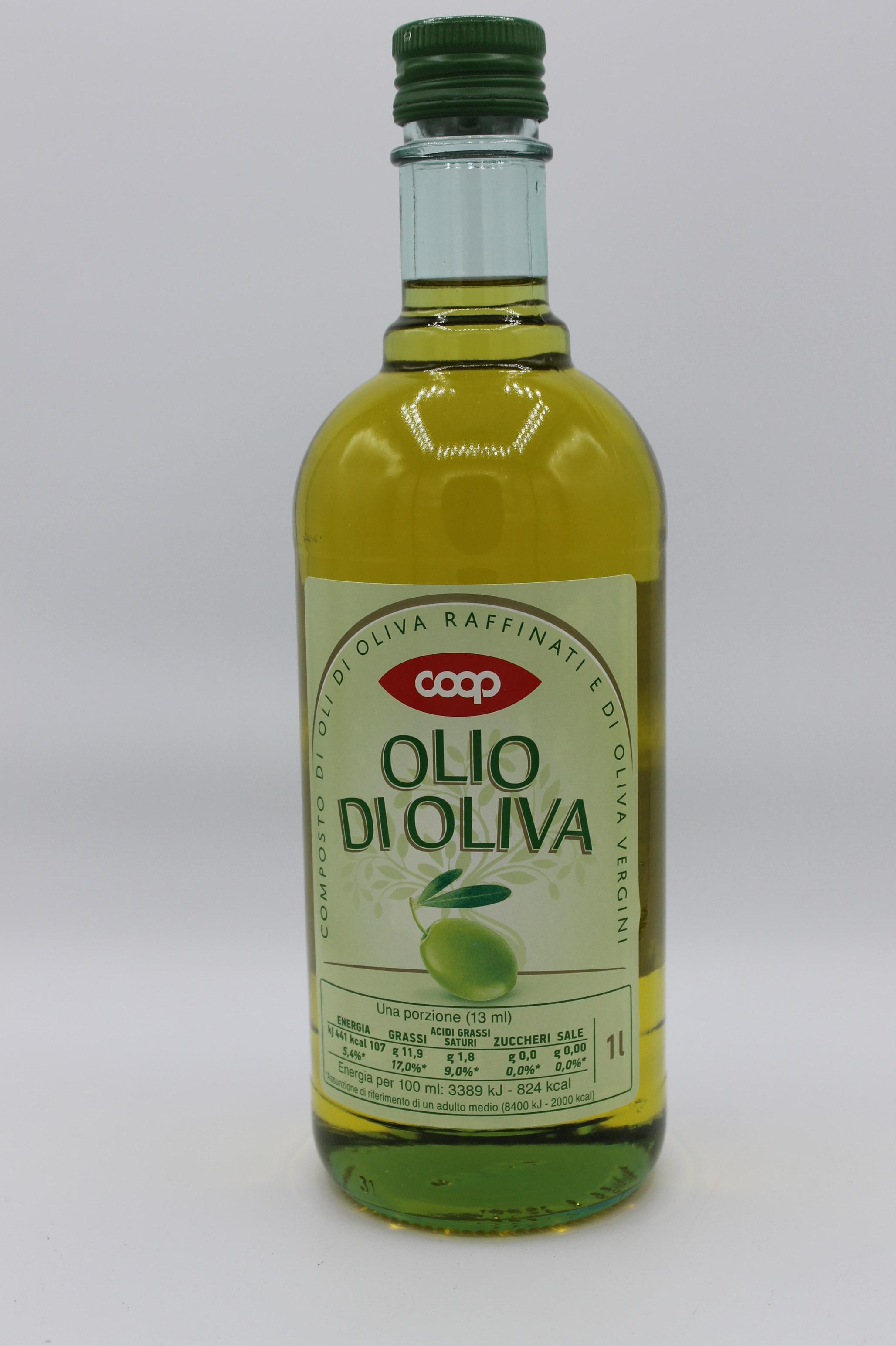 OLIO DI OLIVA COOP 1 LT.
