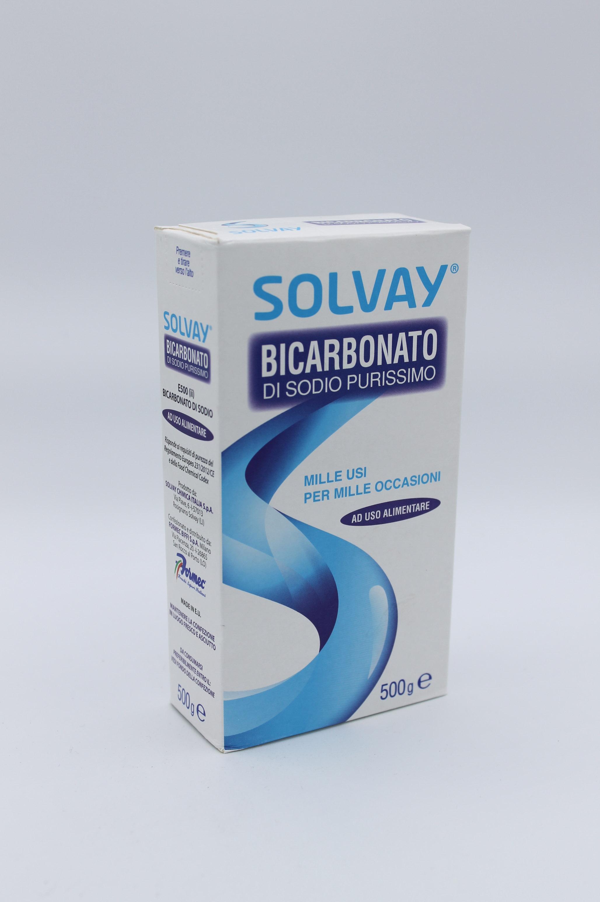 Bicarbonato solvay 500 gr