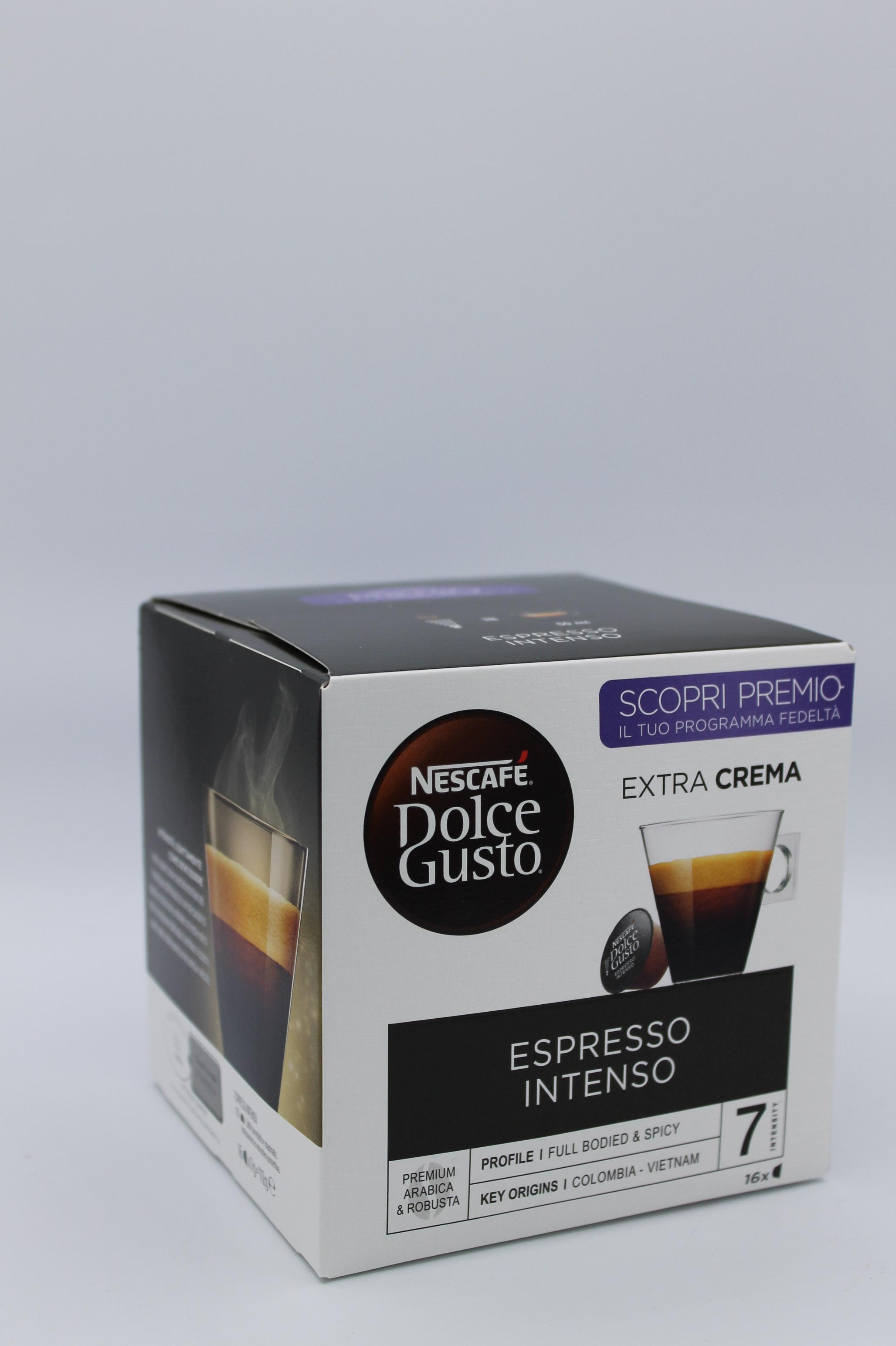 nescafé capsule espresso intenso
