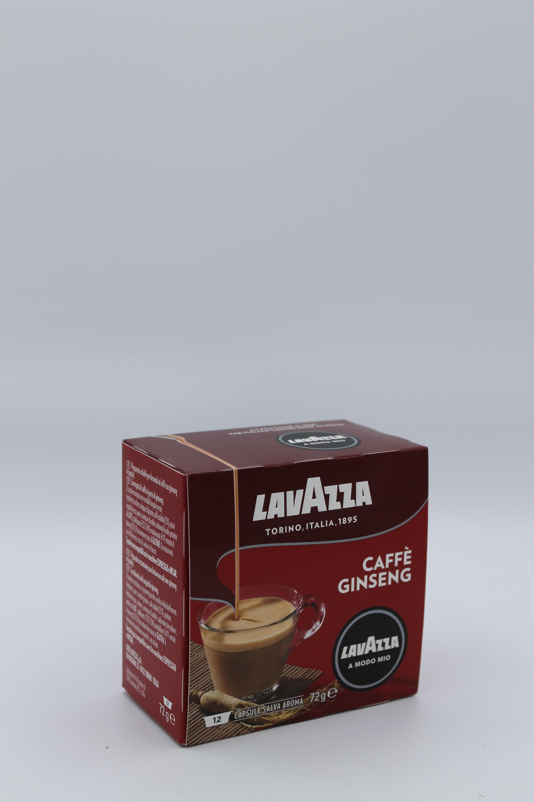 lavazza capsule ginseng 12x6 gr.