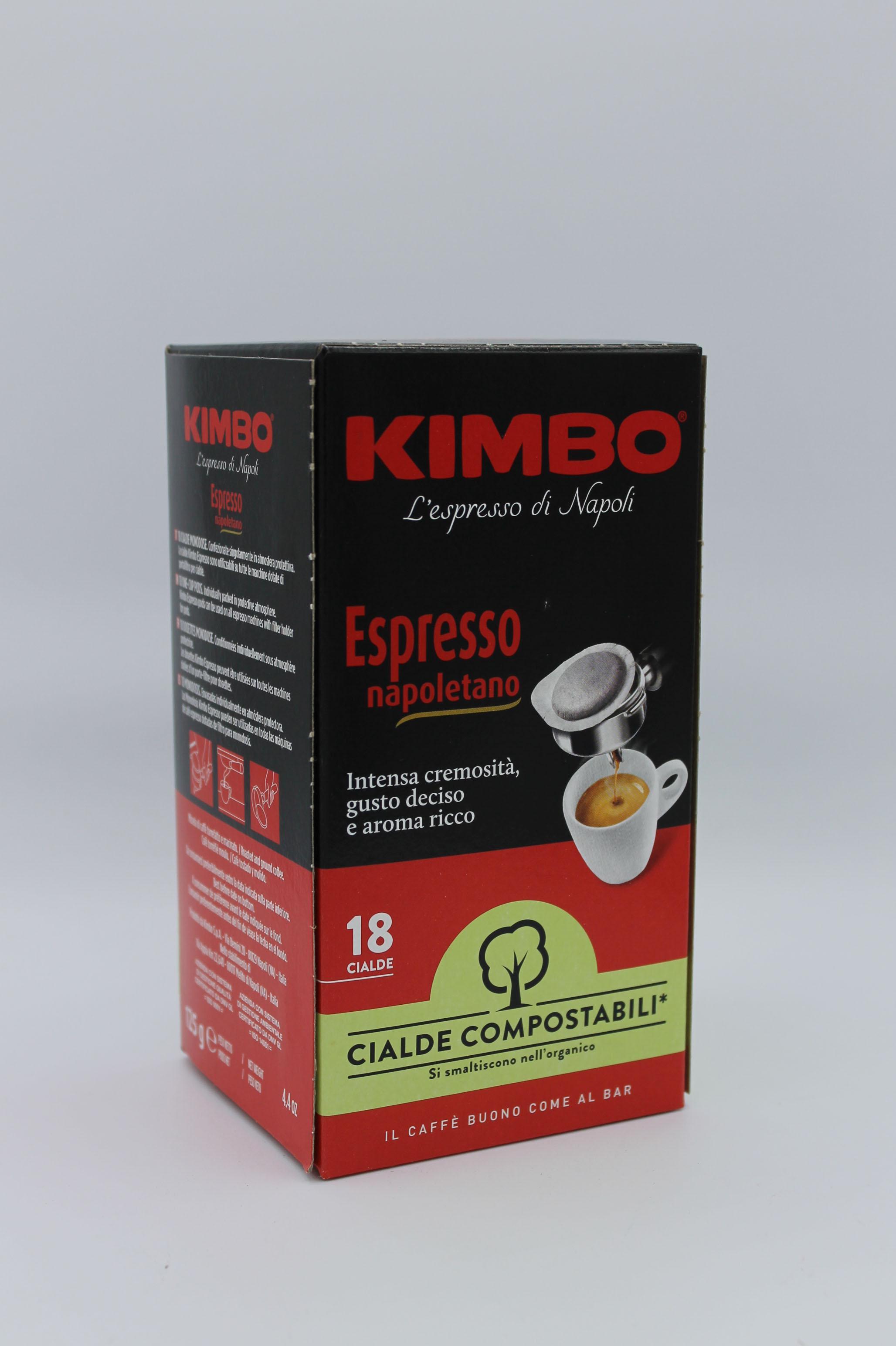 kimbo cialde espresso napoletano 125 gr.