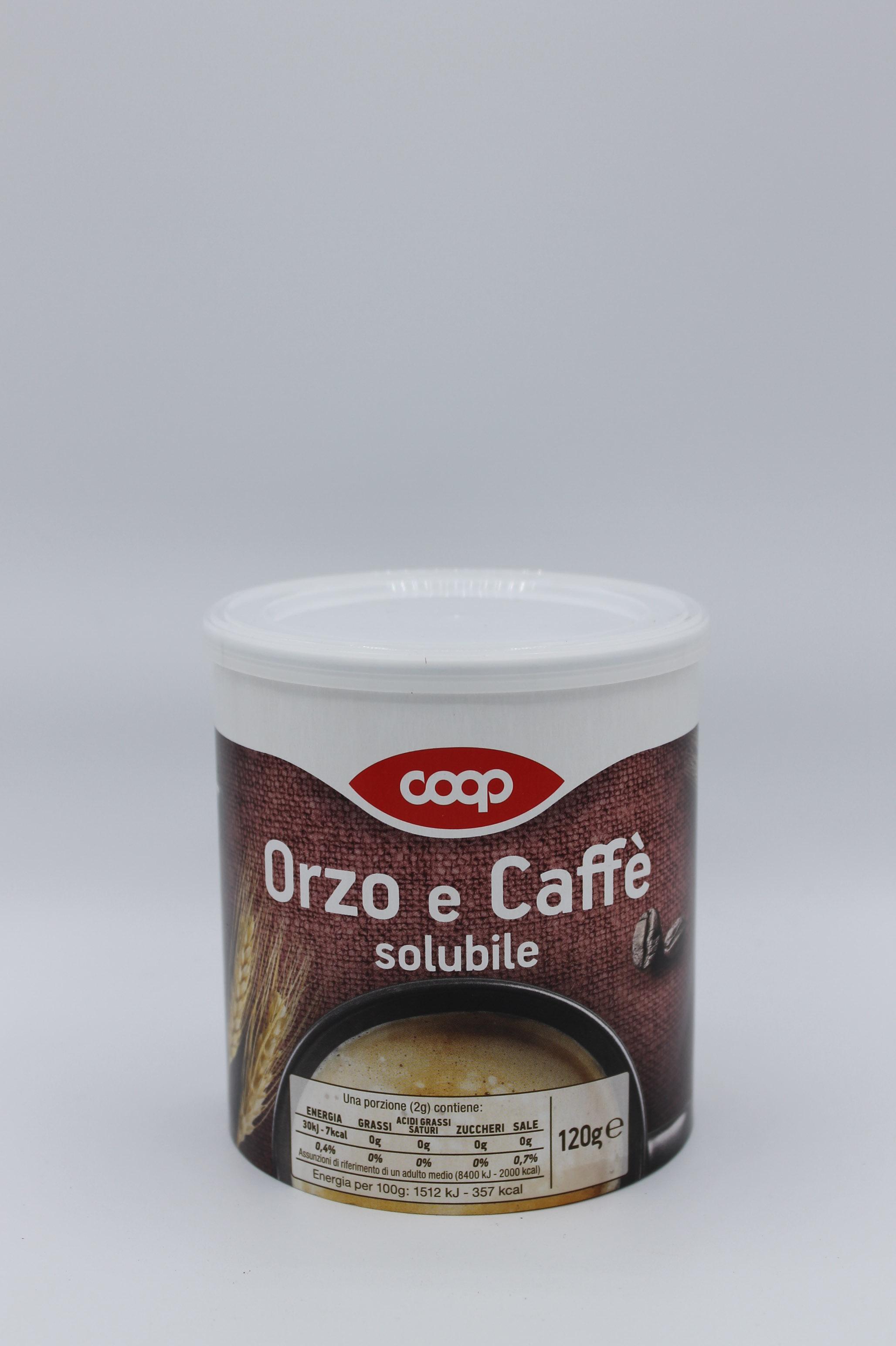 coop orzo e caffè solubile 120 gr.