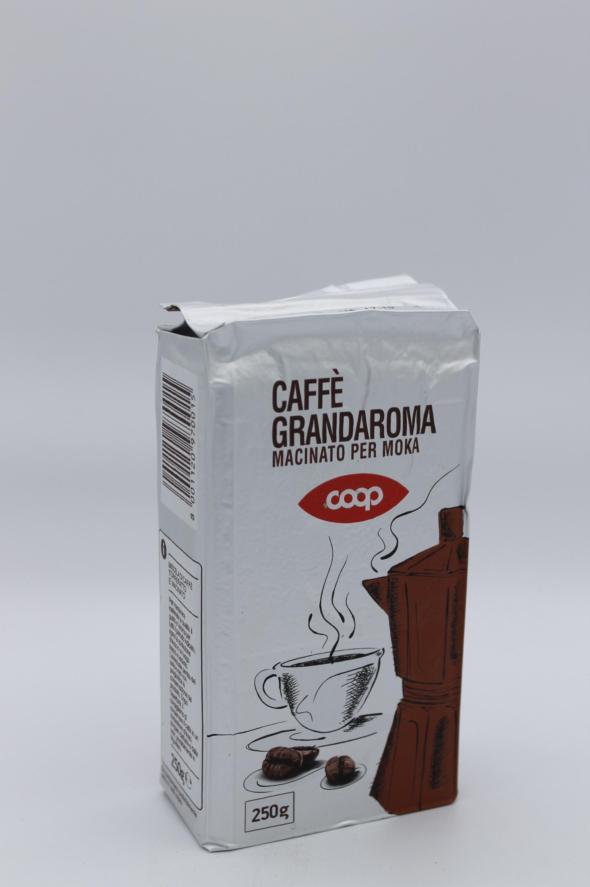 coop caffè grandaroma 250 gr.