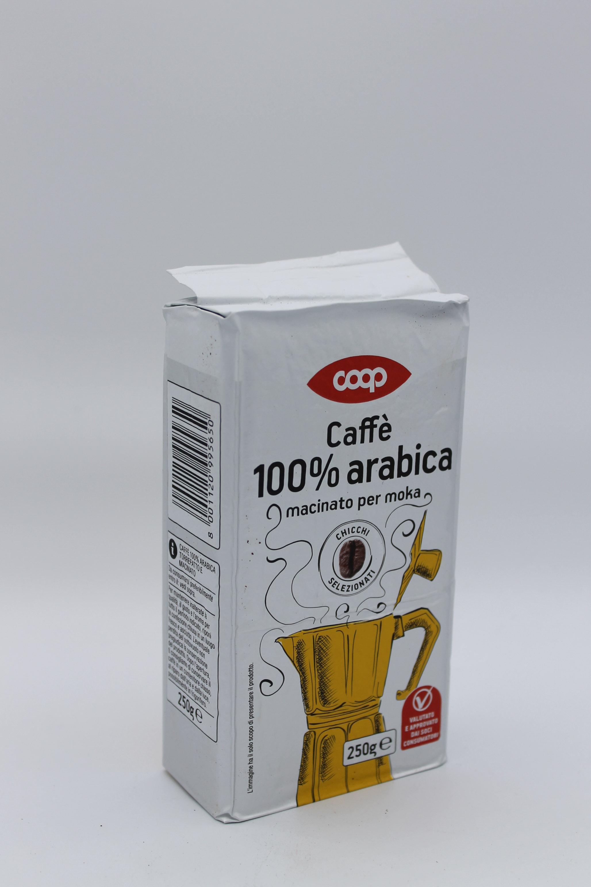 coop caffè 100% arabica 250 gr.