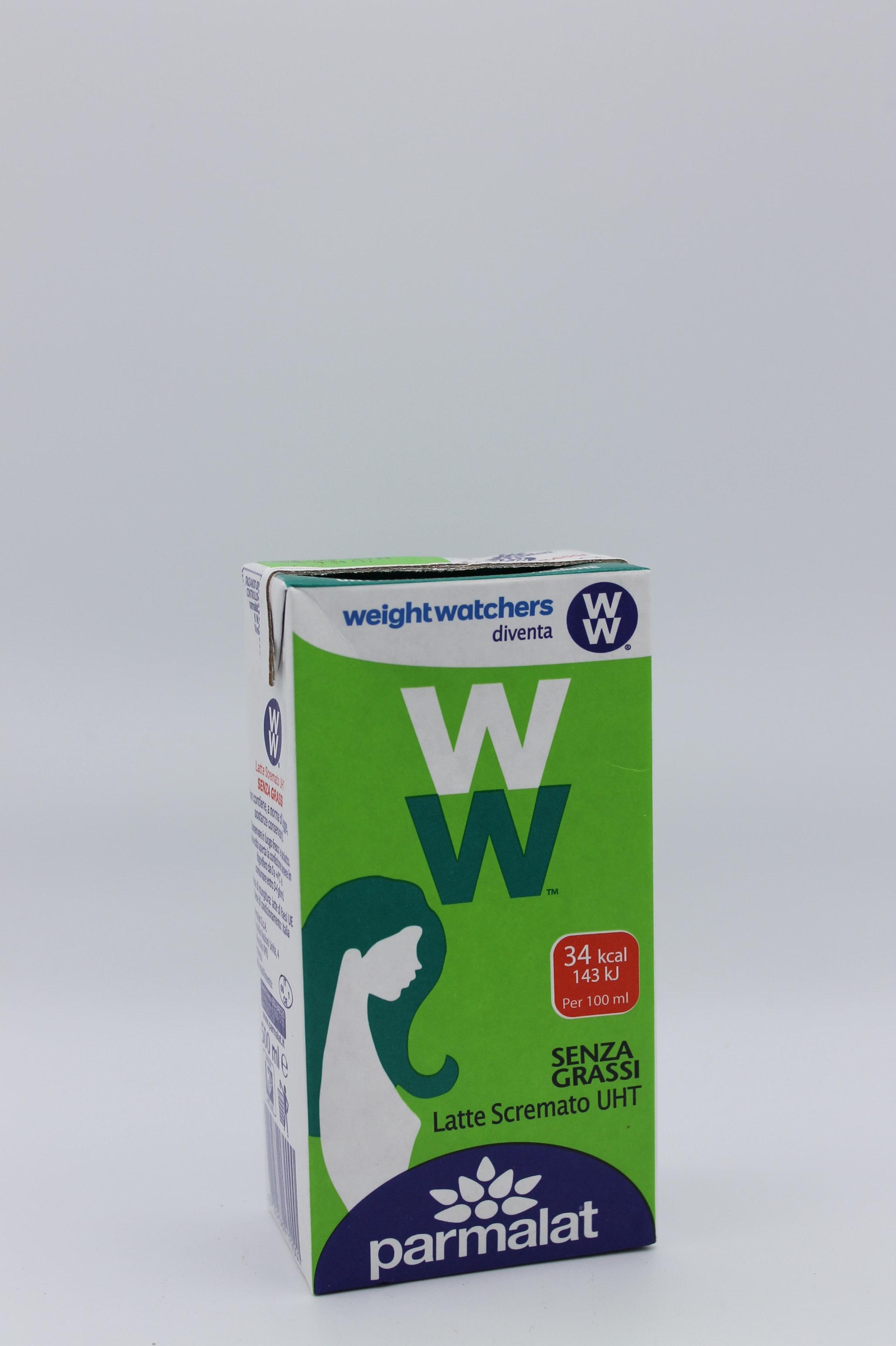 Parmalat latte uht scremato 500 ml.