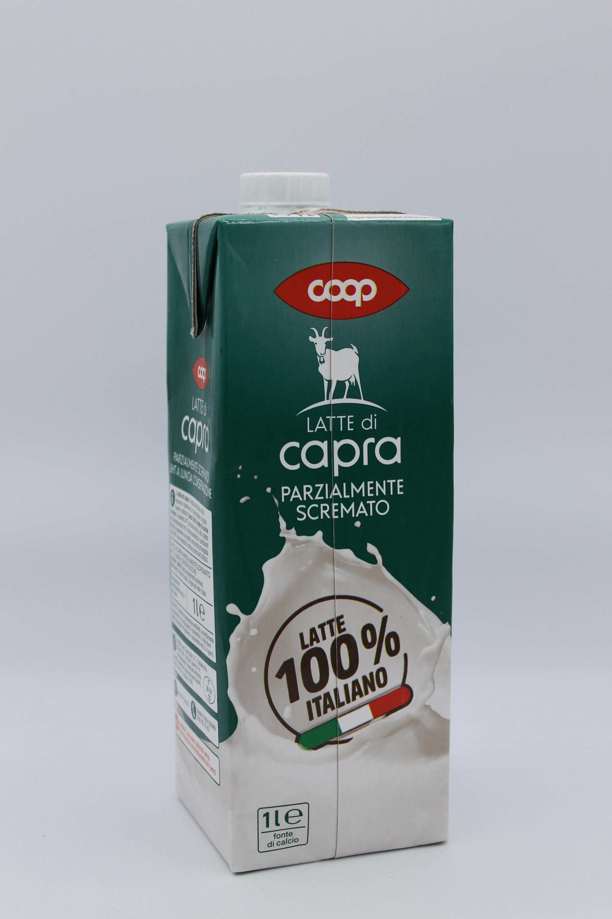 Coop latte di capra 1 lt.
