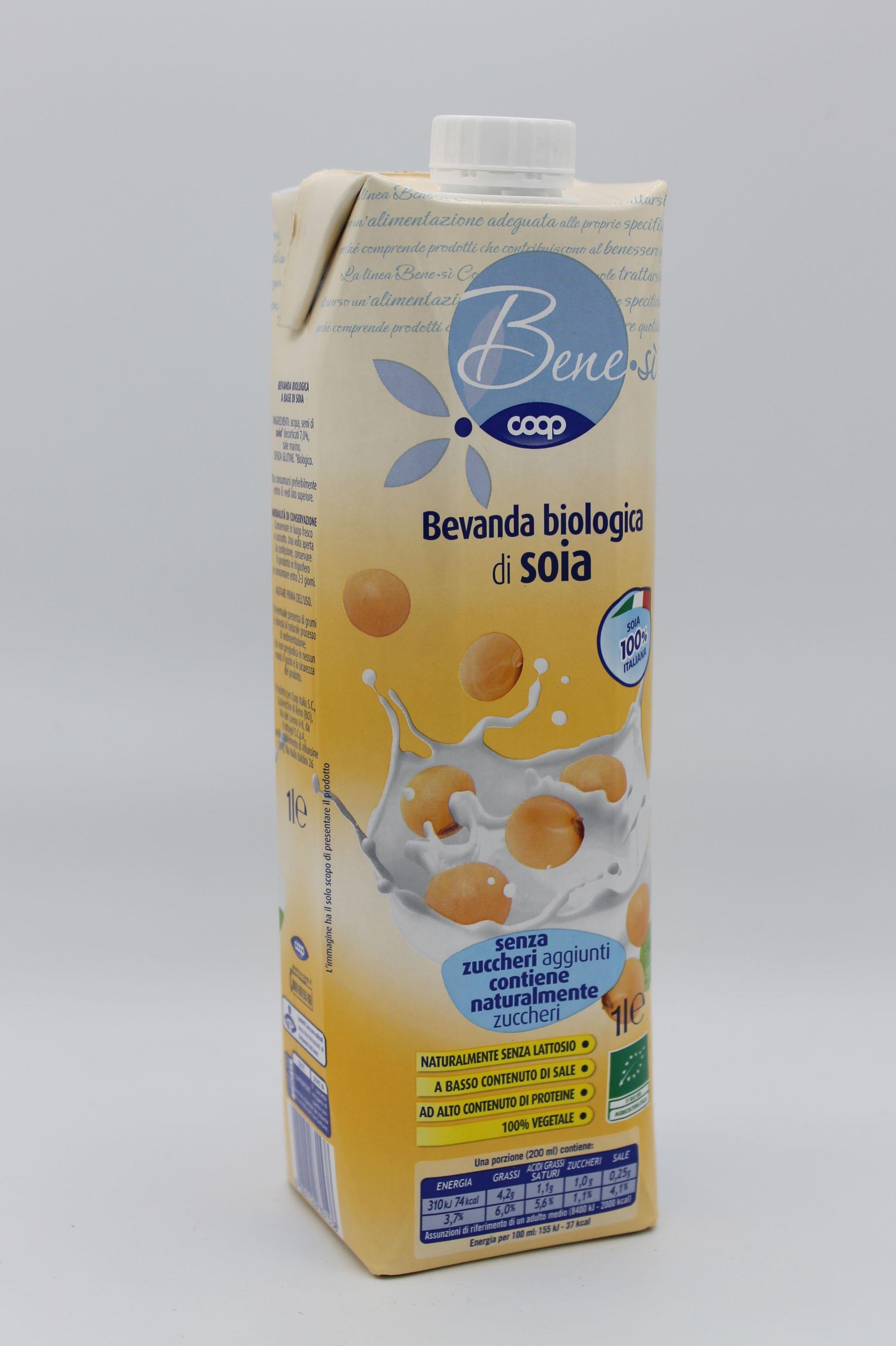 Coop bevanda soia biologica 1 lt.