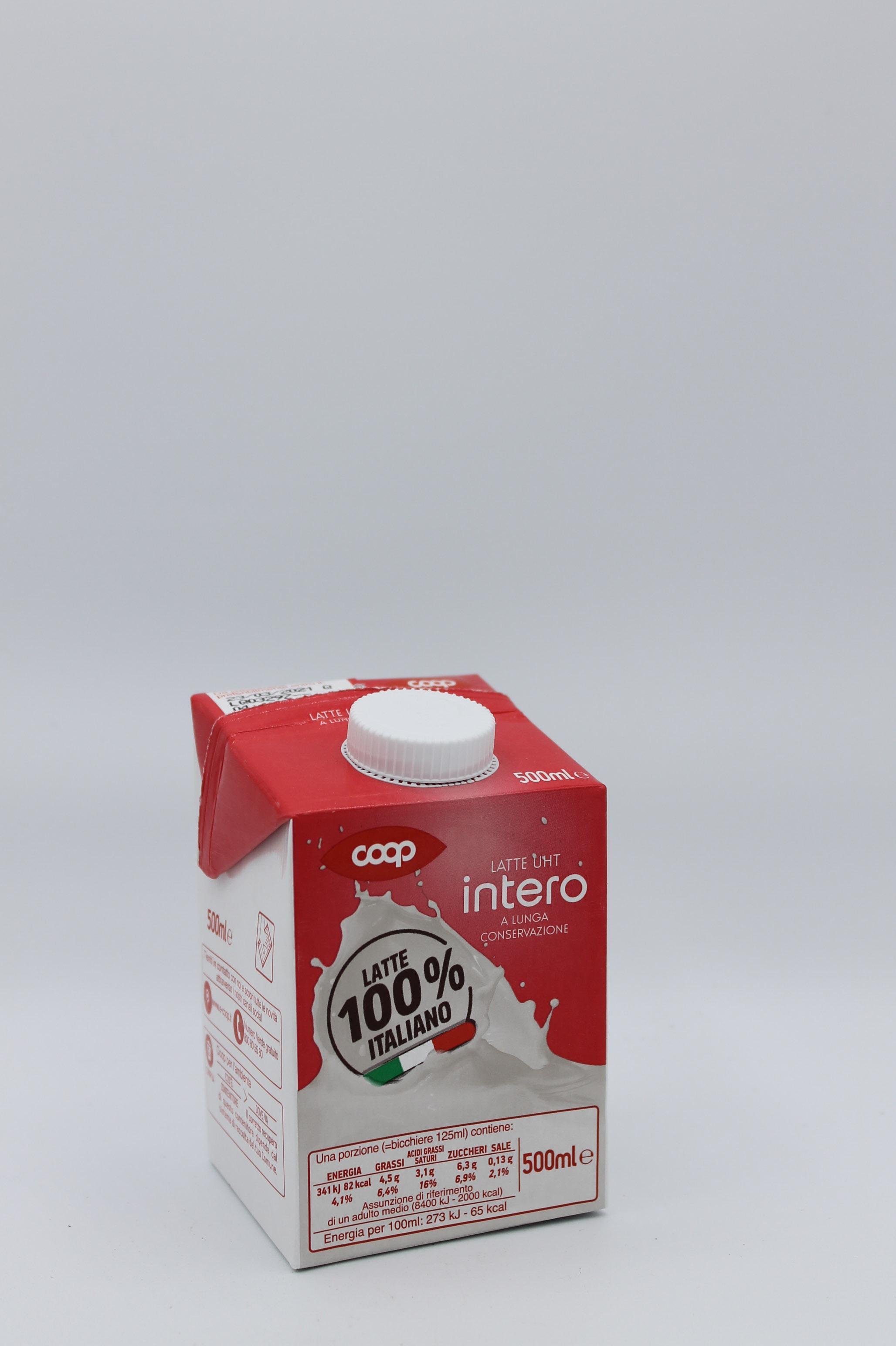 Coop latte intero 500 ml.