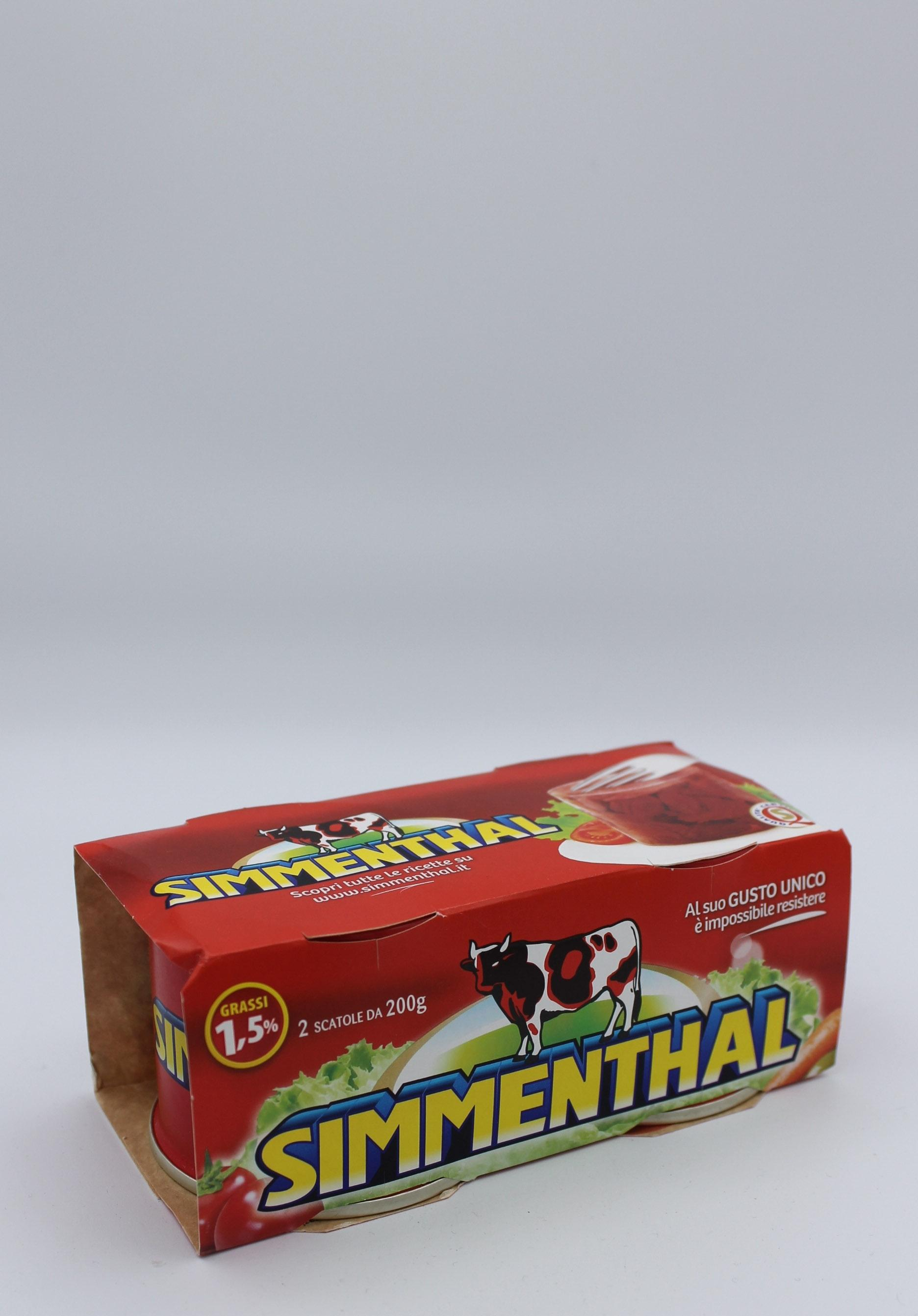 Simmenthal scatola 2x200 gr.