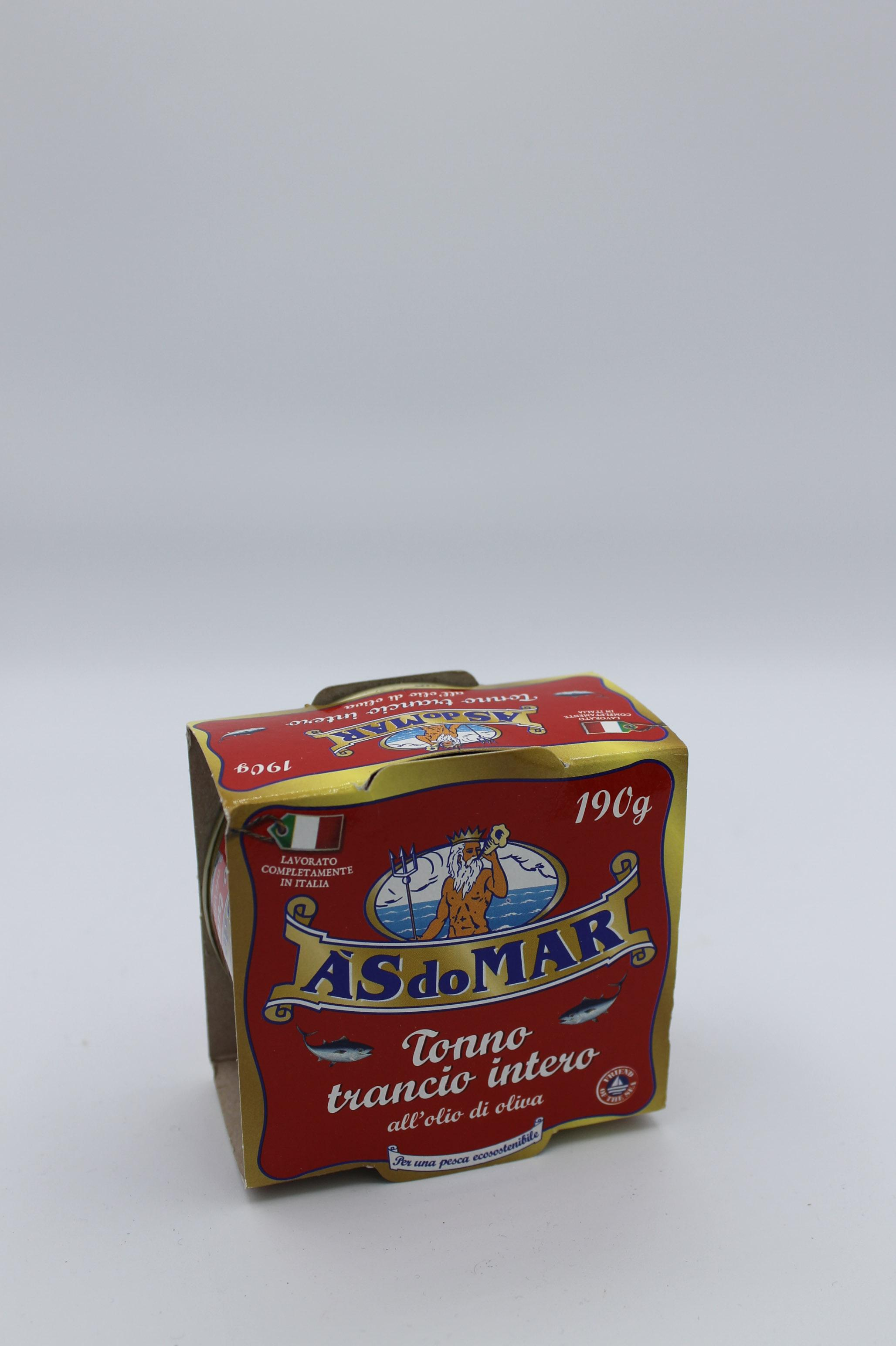 Asdomar tonno olio oliva 190 gr.