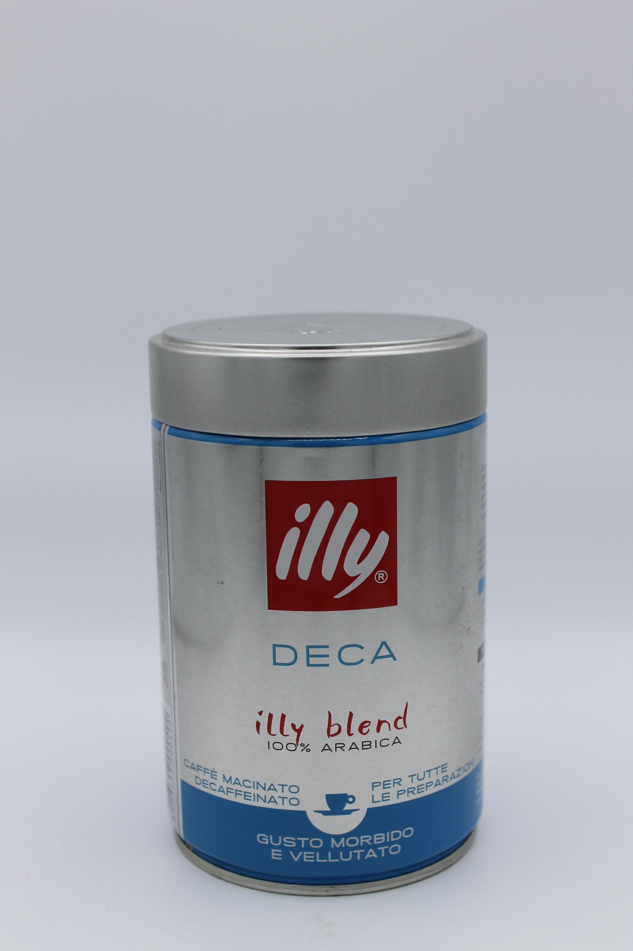 Illy decaffeinato 250 gr.