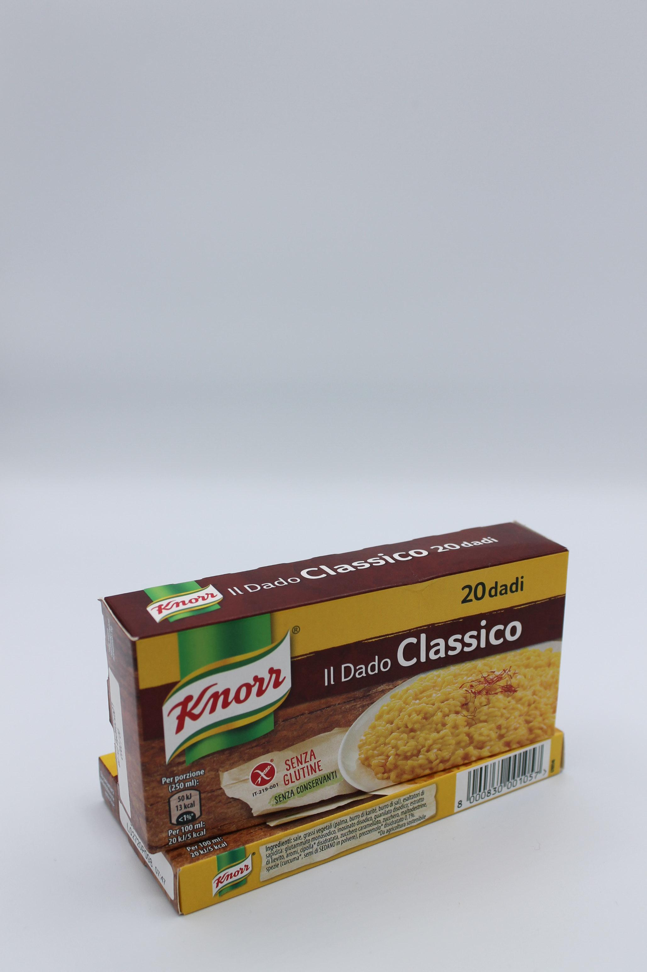 Knorr dado classico 200 gr.