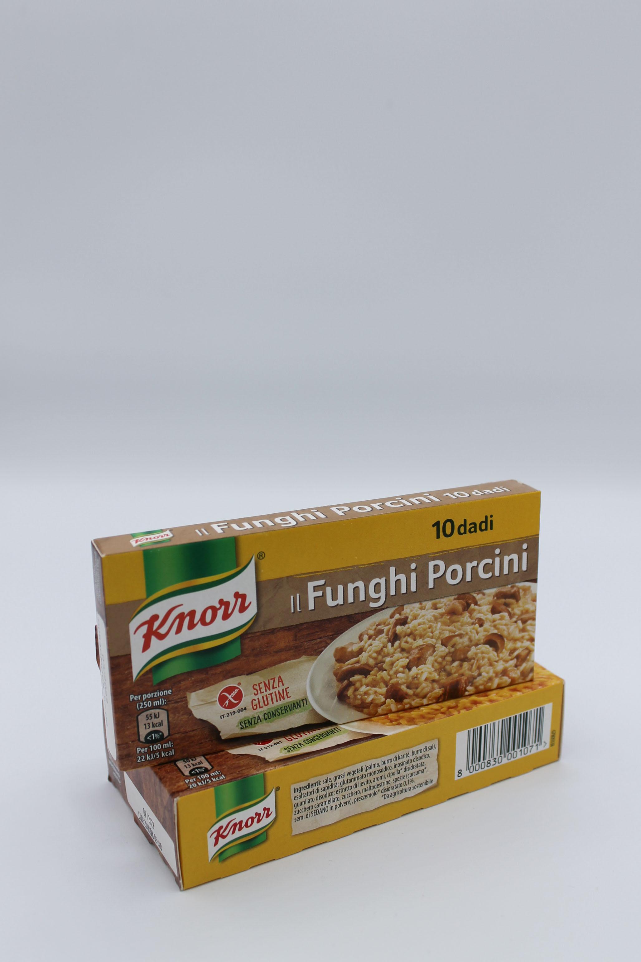 Knorr dado funghi porcini 100 gr.
