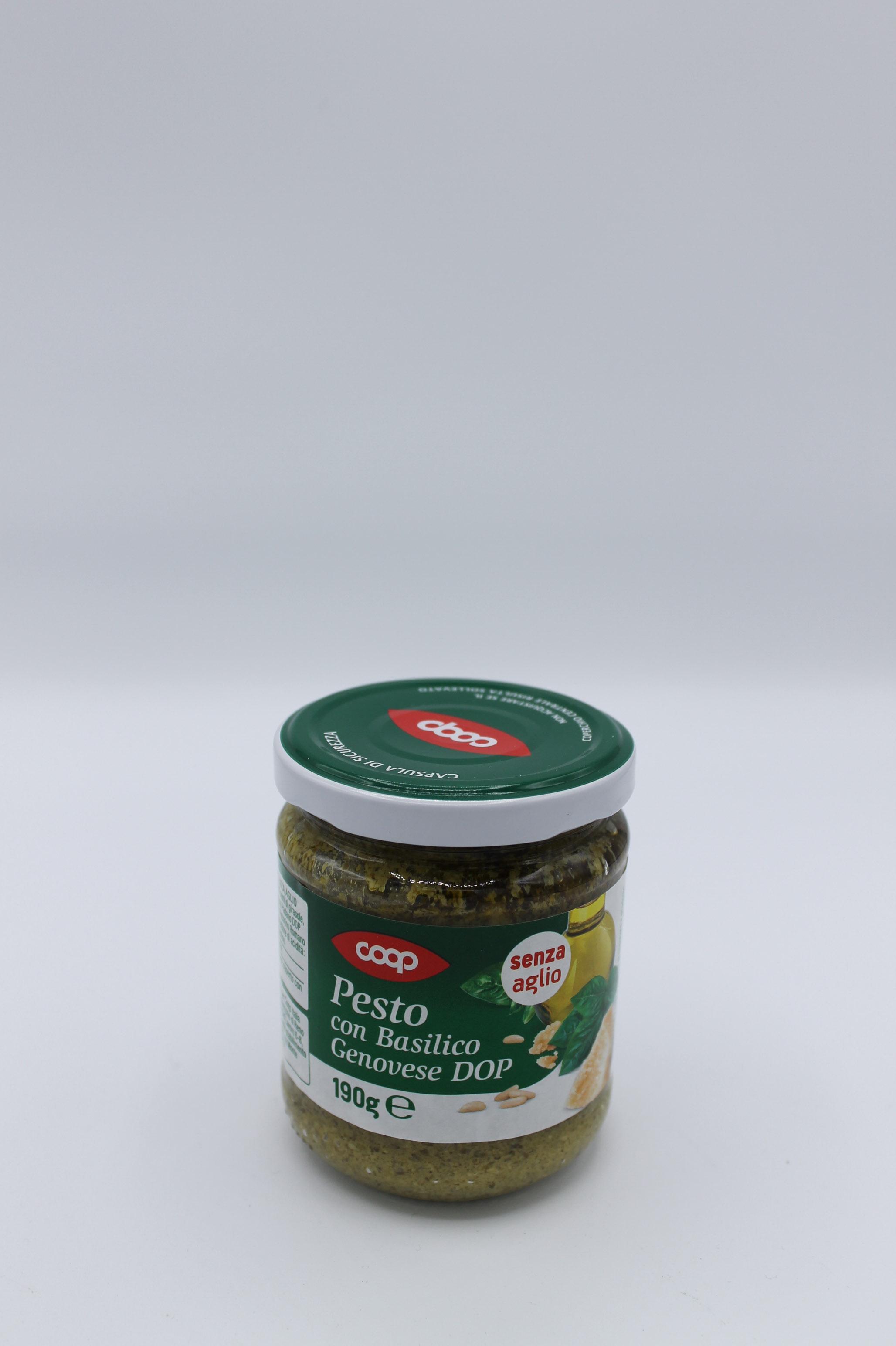 Coop pesto senza aglio 190 gr.