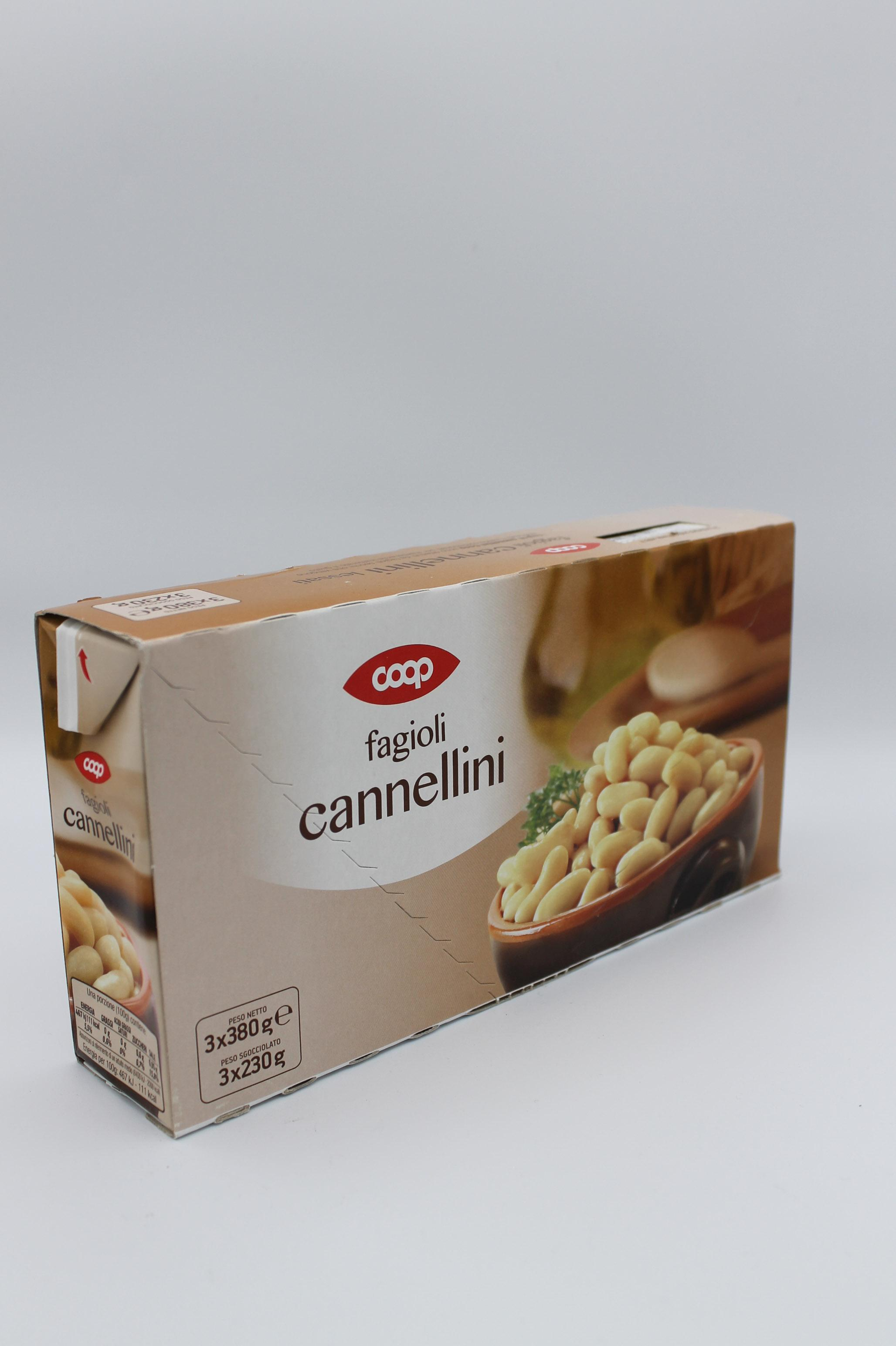 Coop cannellini 3x230 gr.