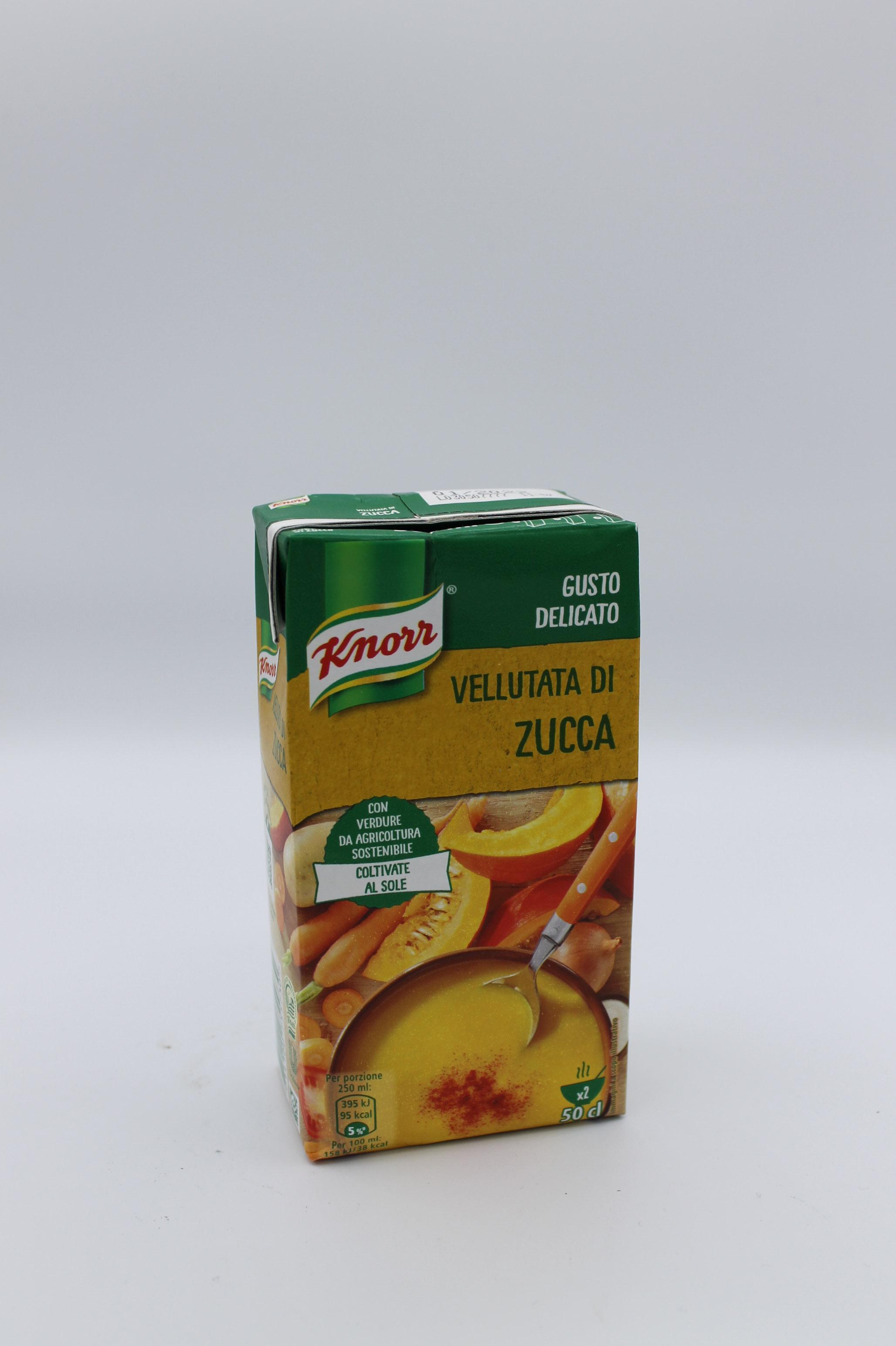 Knorr vellutata zucca 500 ml.