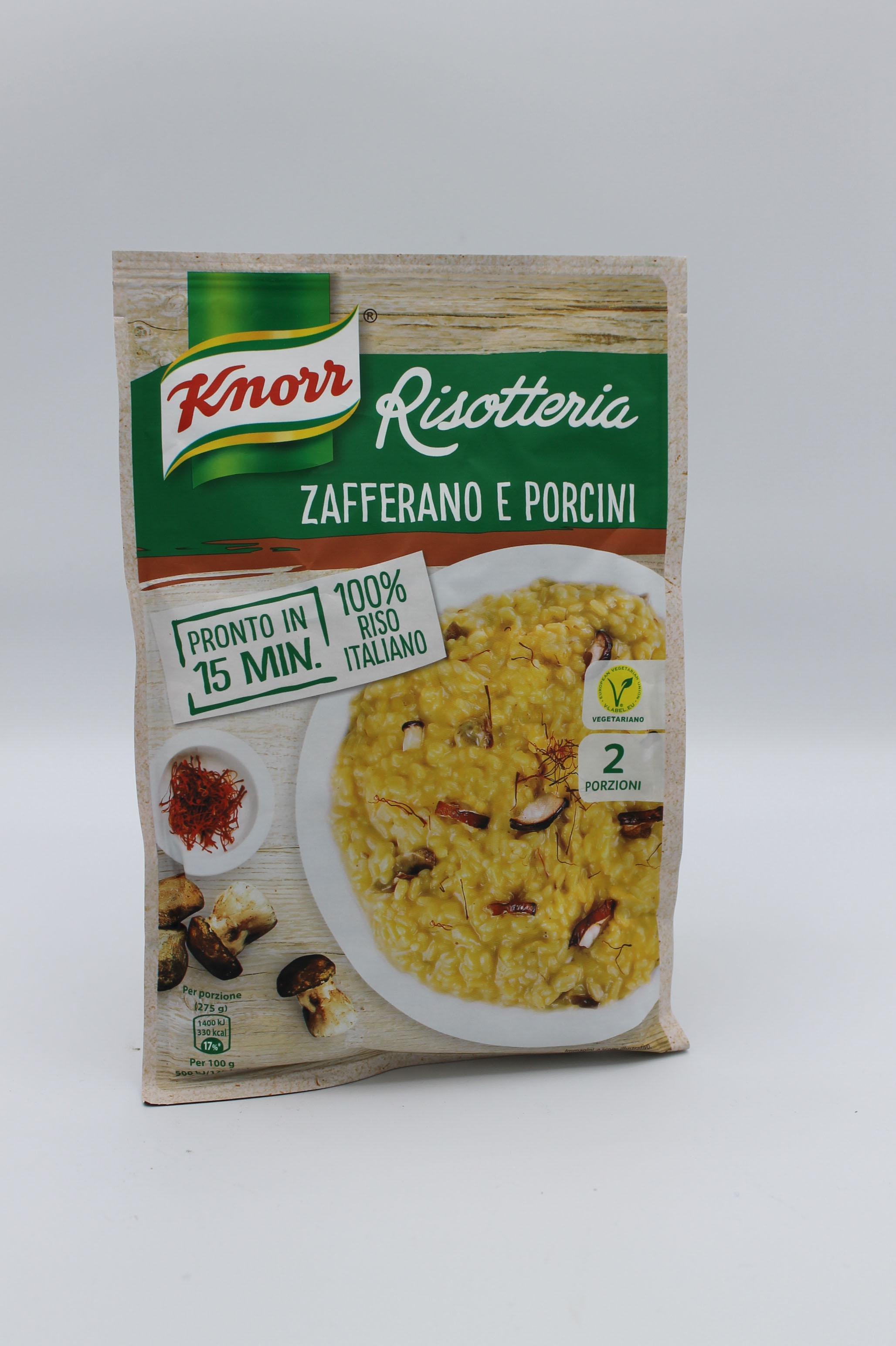 Knorr risotto zafferano e porcini 175 gr.