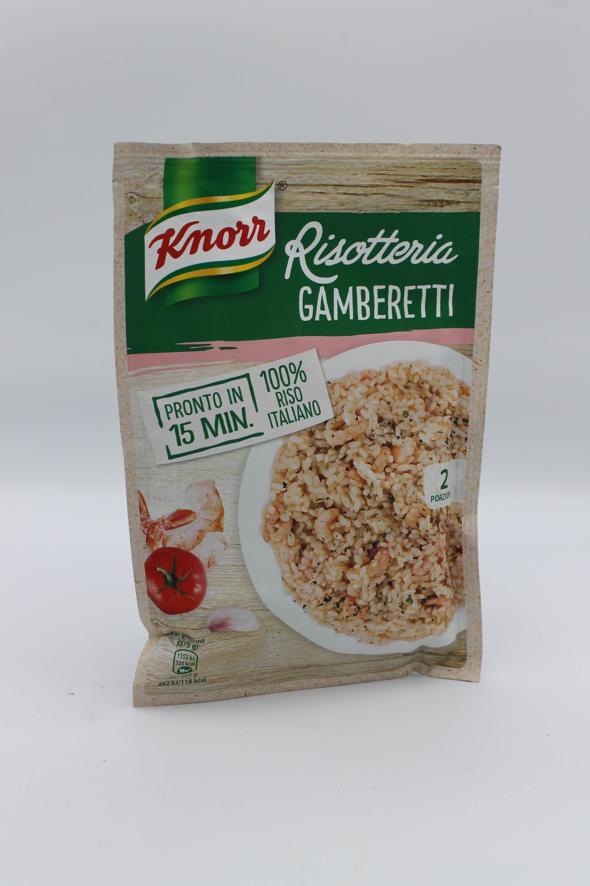 Knorr risotto gamberetti 175 gr.