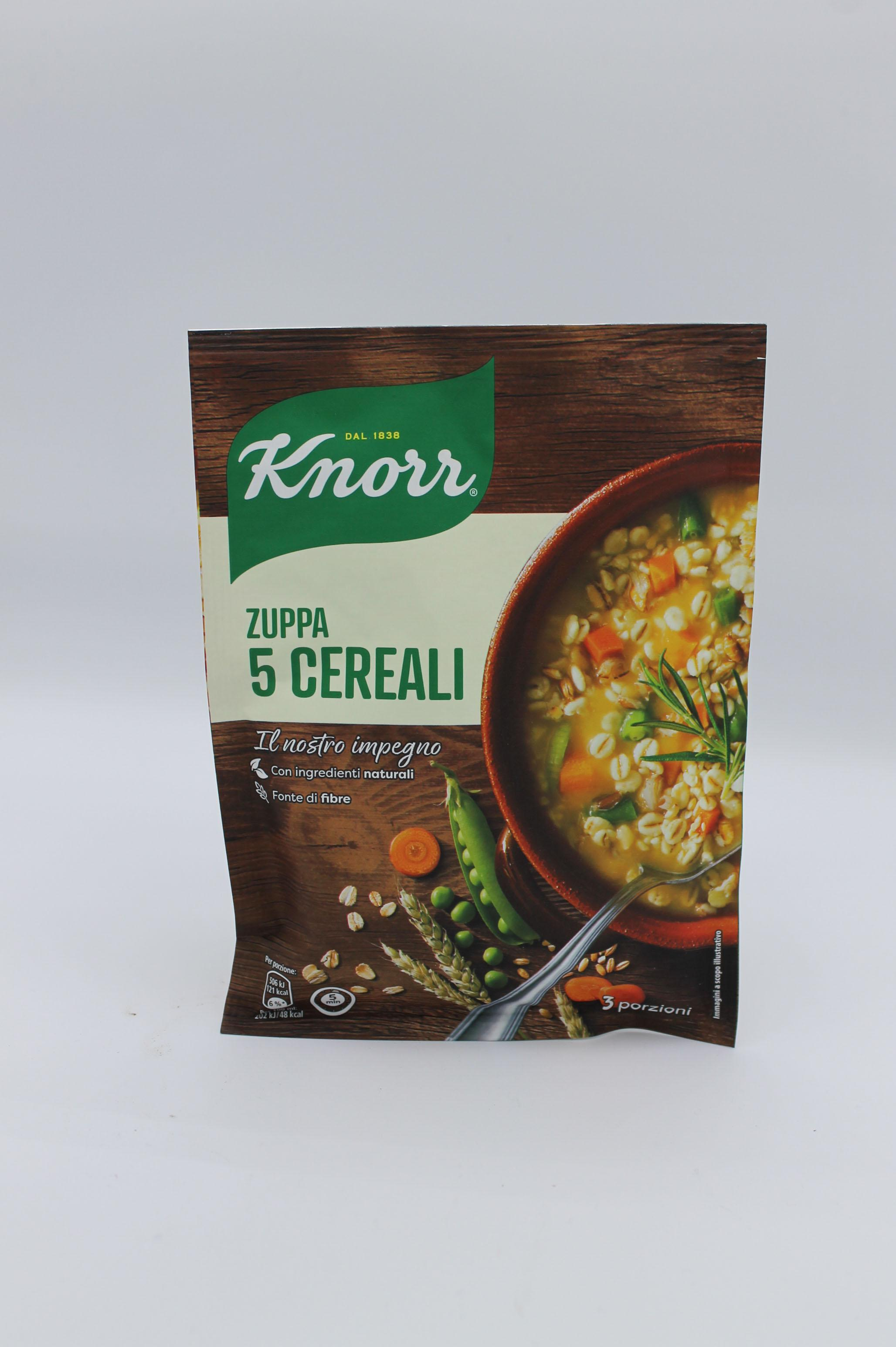 Knorr zuppa ai 5 cereali 109 gr.