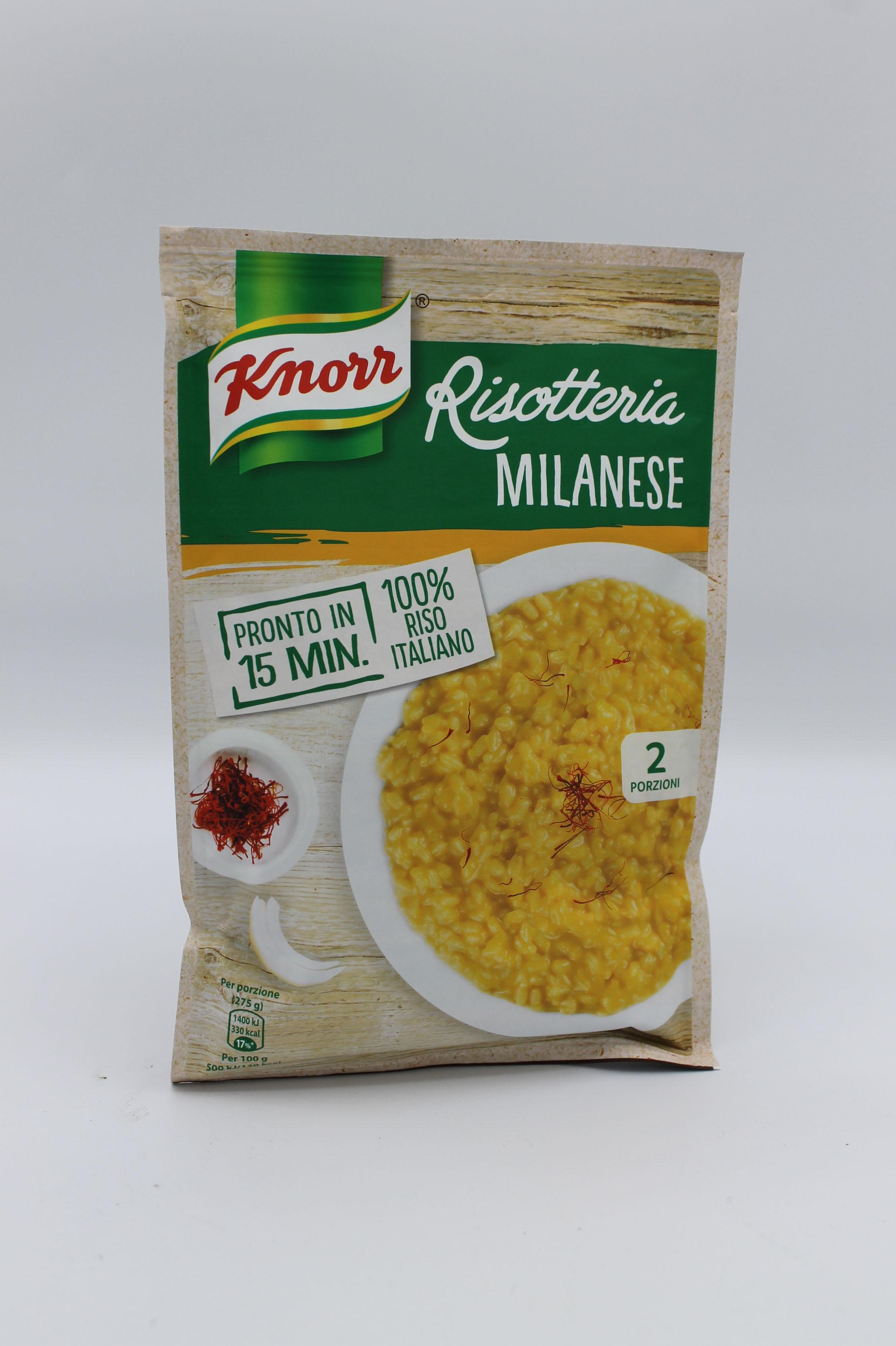 Knorr risotto milanese 175 gr.