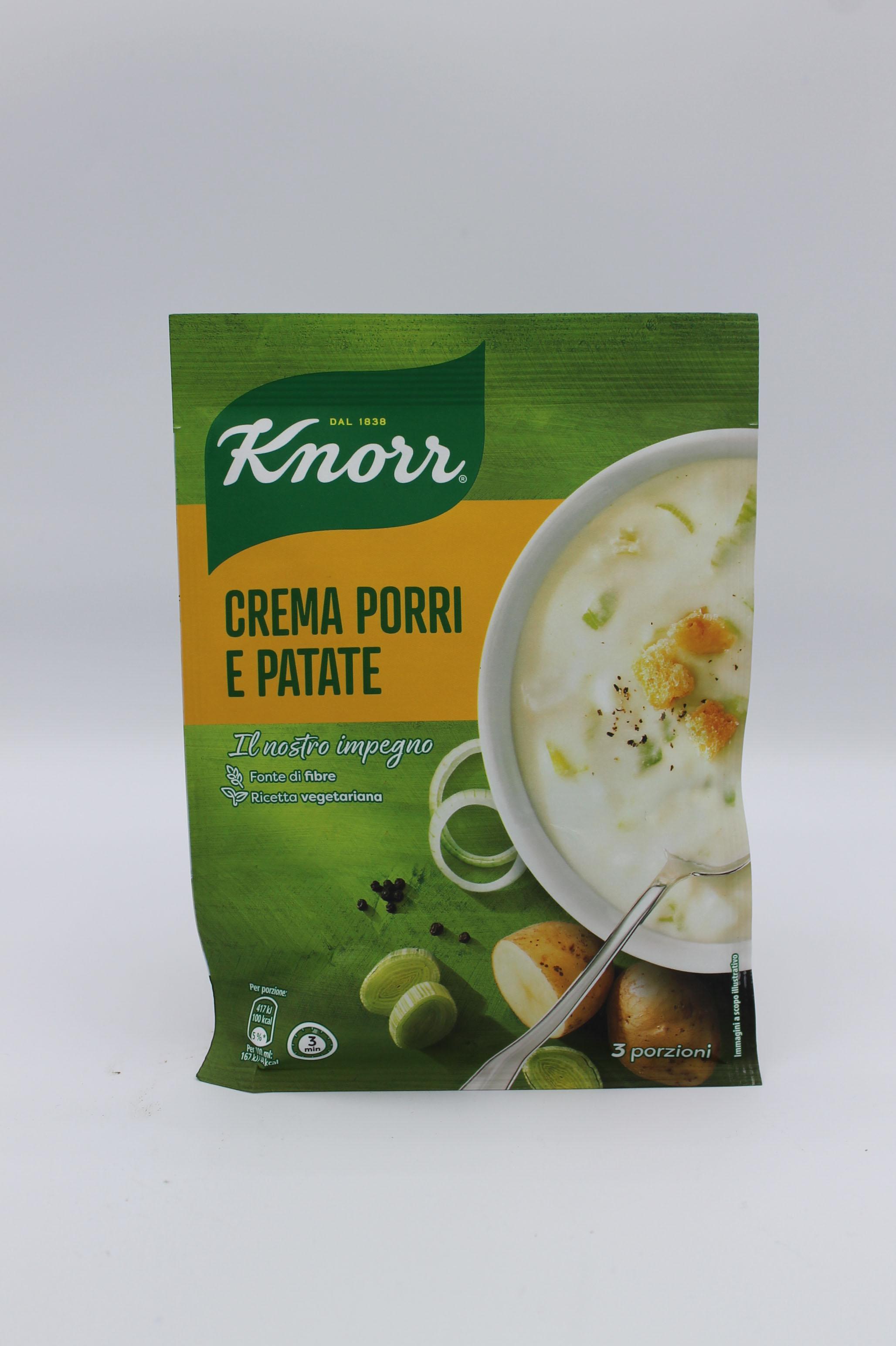 Knorr crema porri e patate 90 gr.