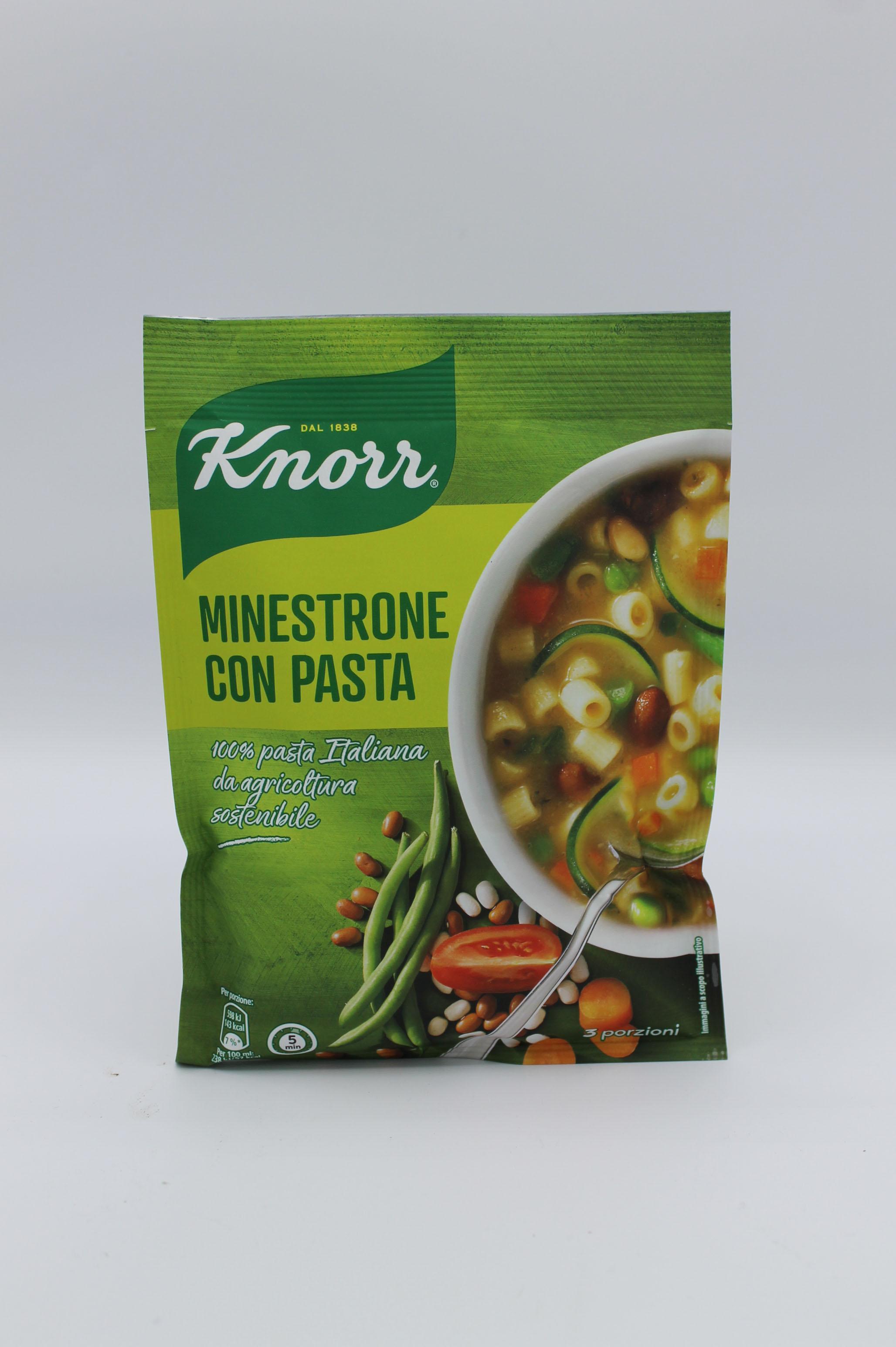 Knorr minestrone con pasta 132 gr.