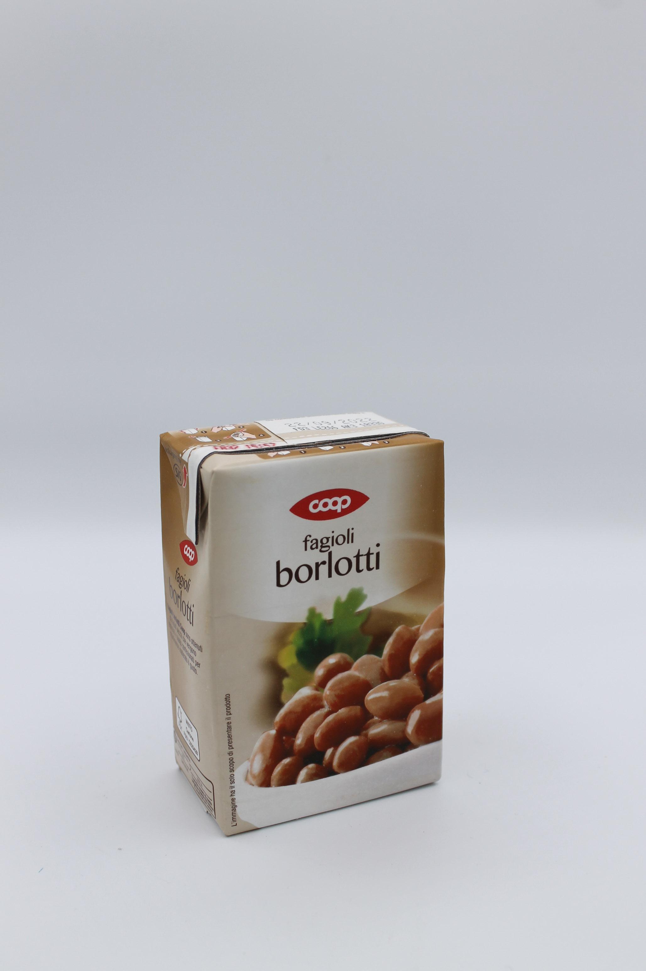 Coop fagioli borlotti 230 gr.