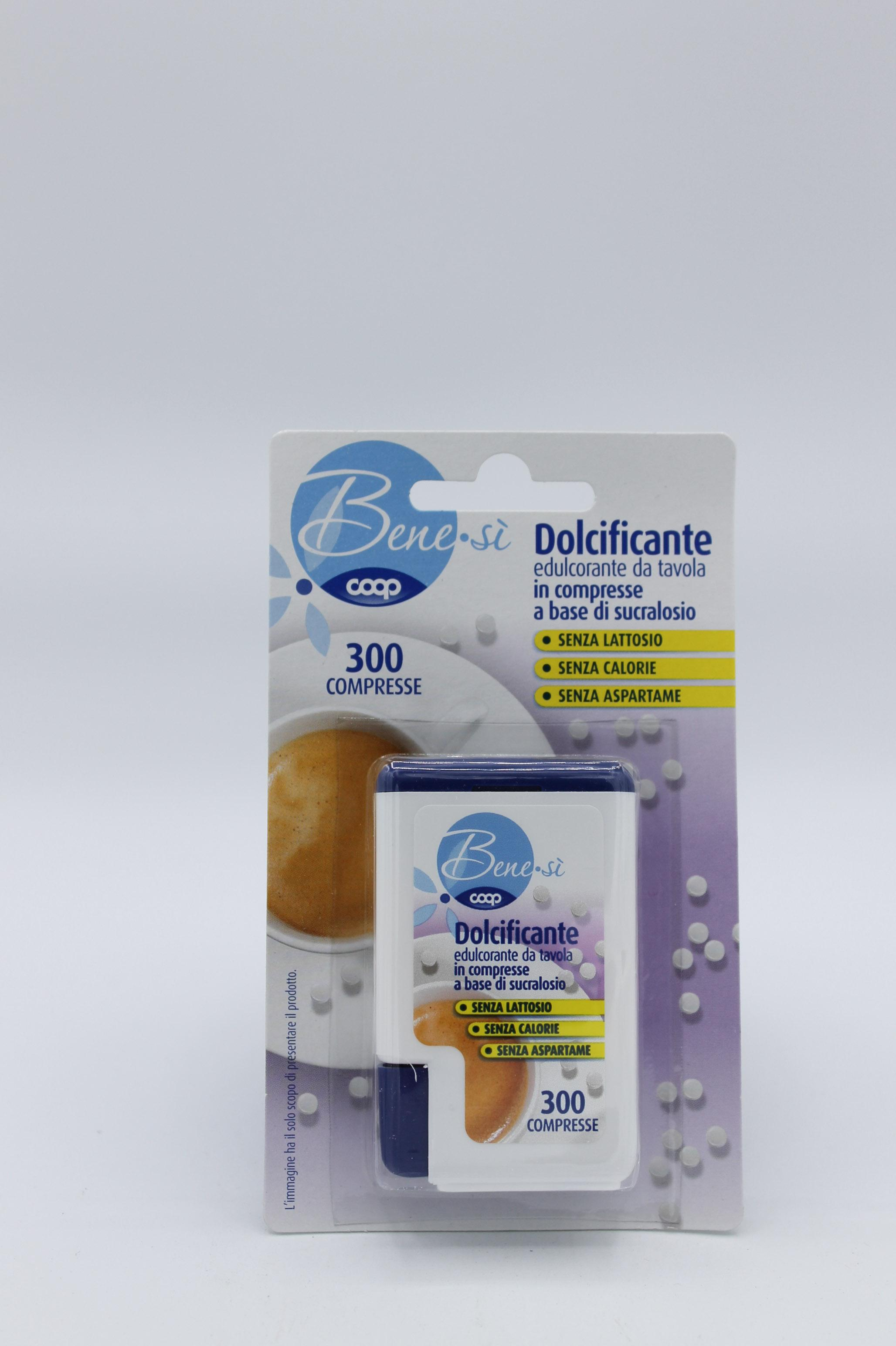 Coop dolcificante 300 capsule