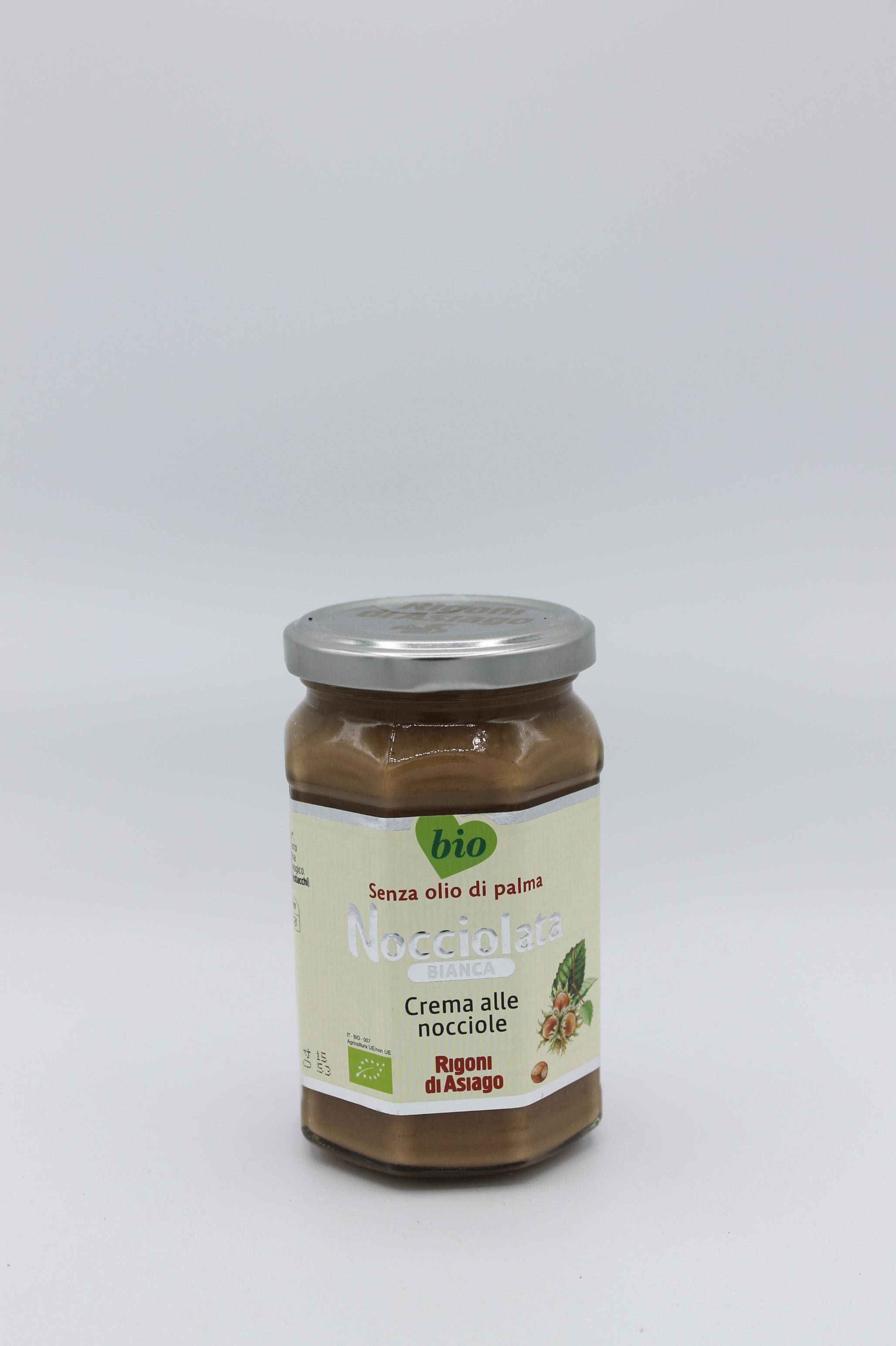 Rigoni crema spalmabile nocciolata bianca bio 350 gr.