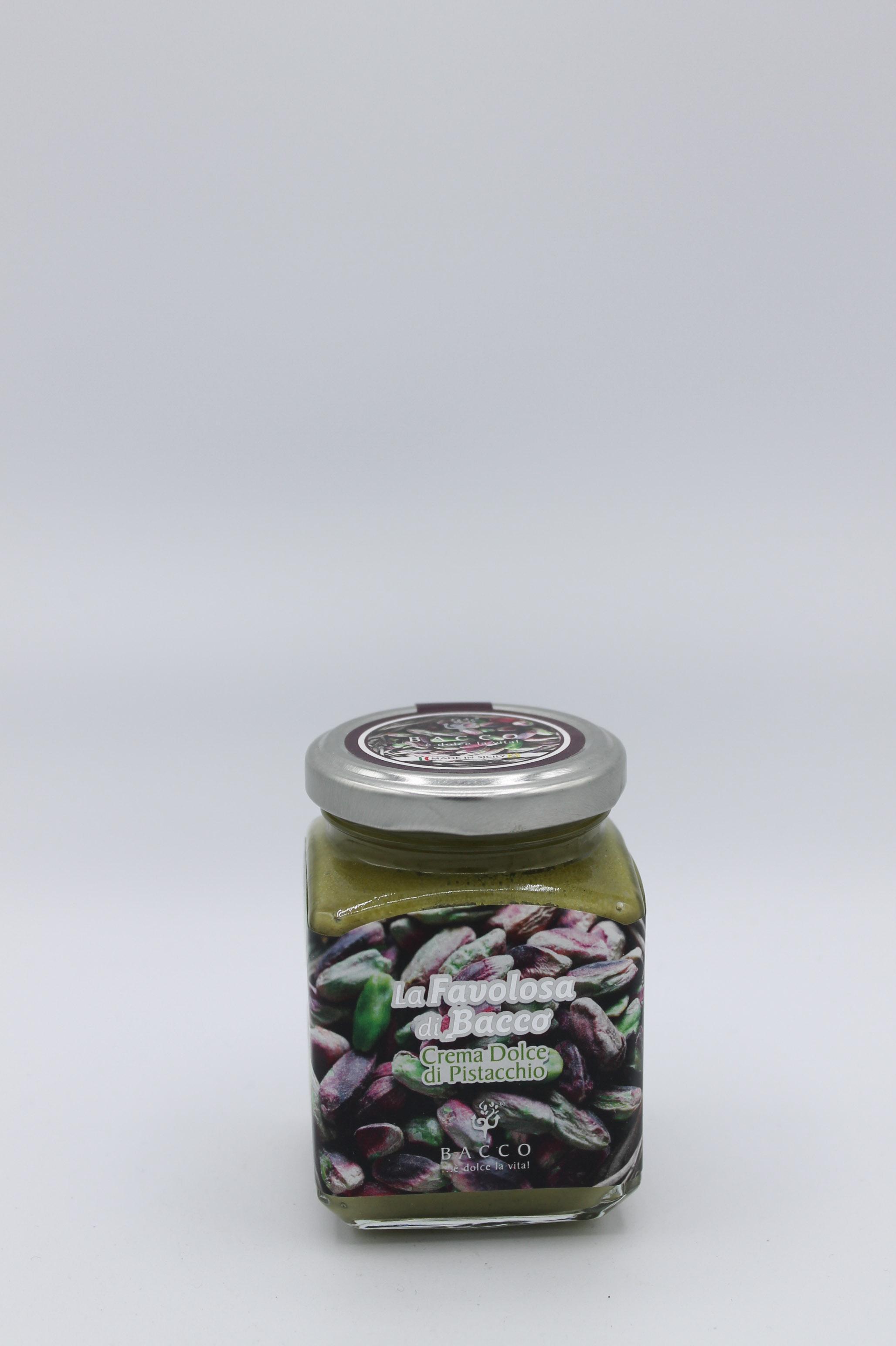 Bacco crema pistacchio 190 gr.