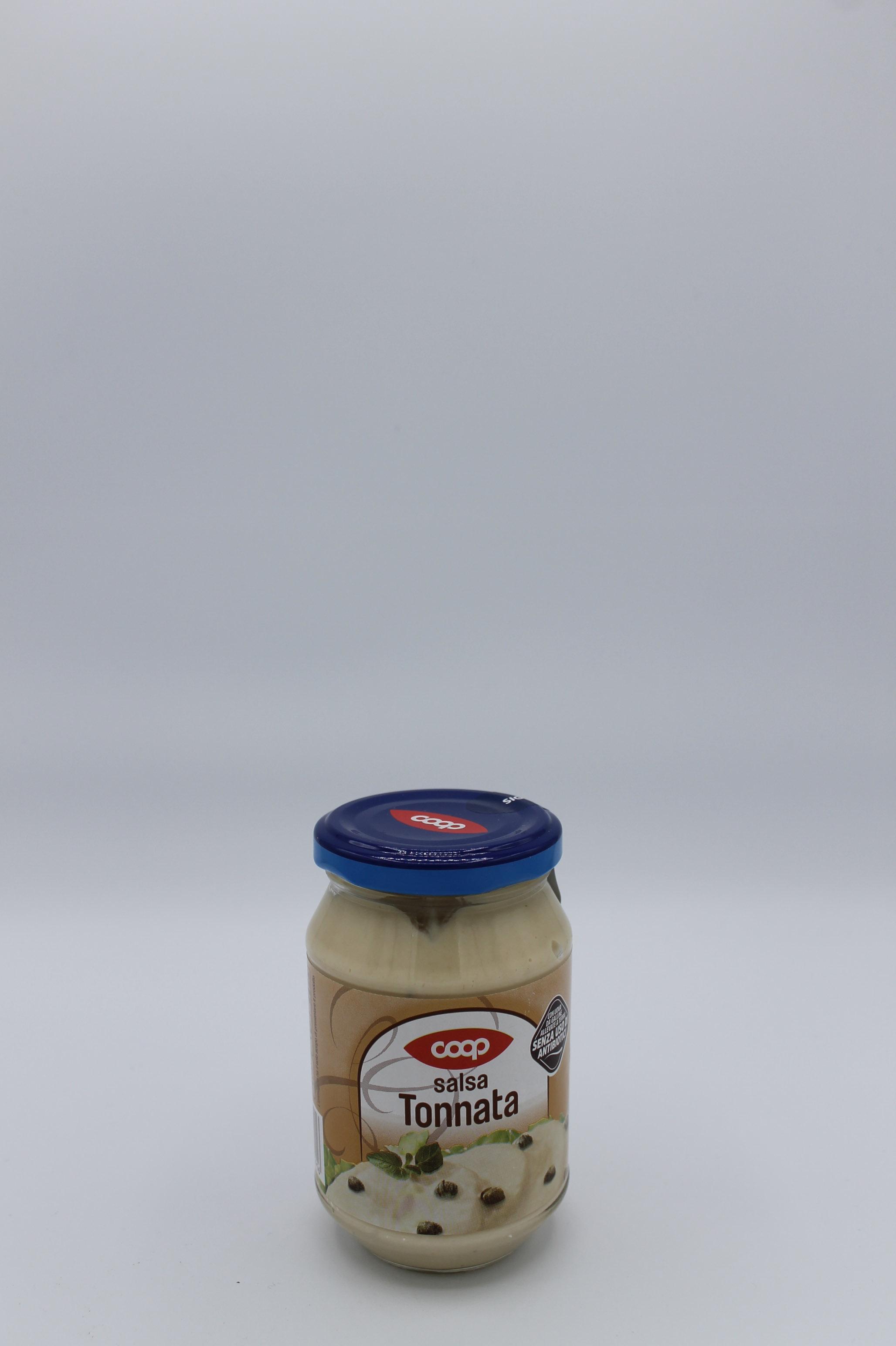 Coop salsa tonnata vetro 240 gr.