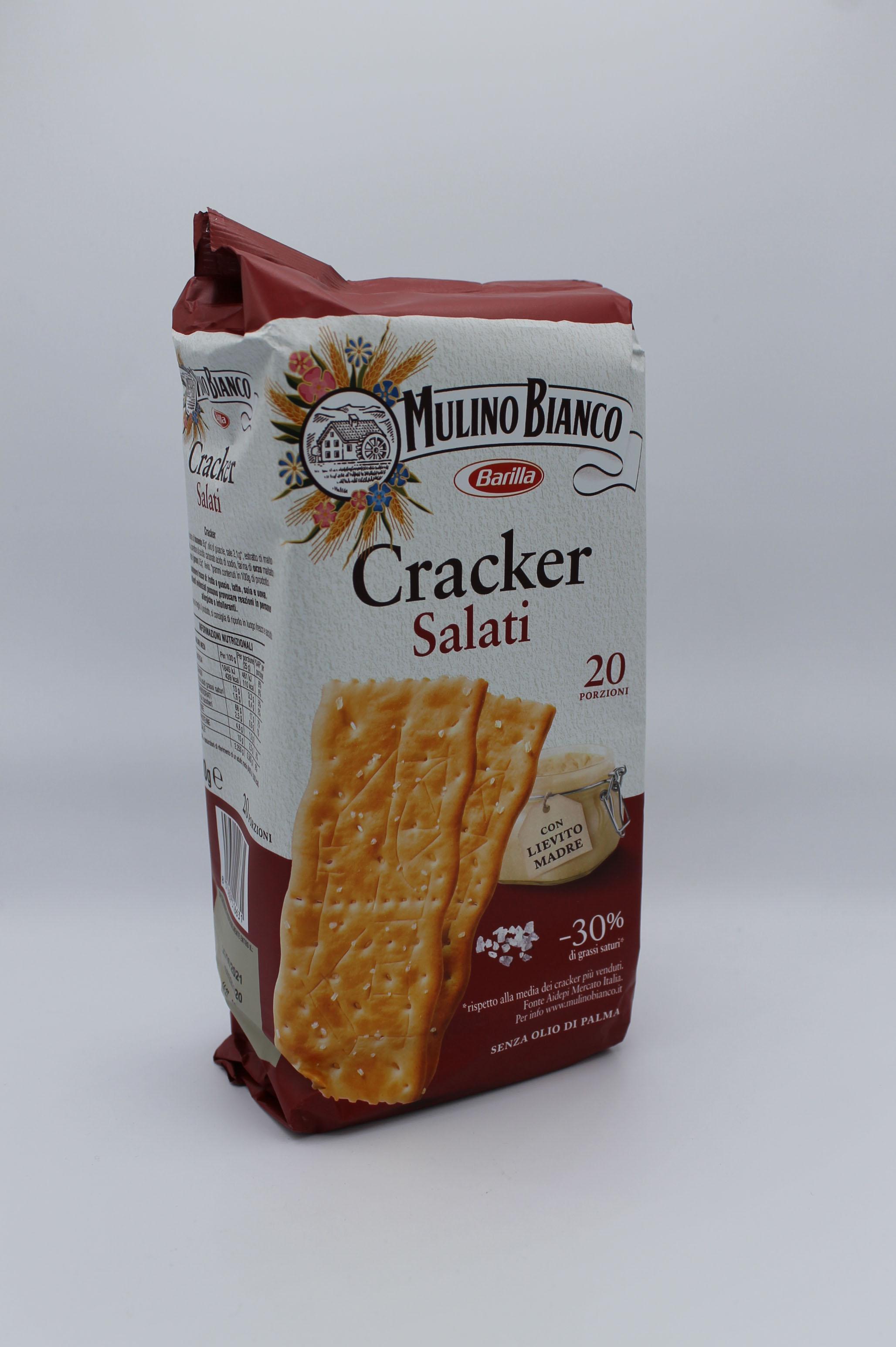 Barilla crackers salati 500 gr.