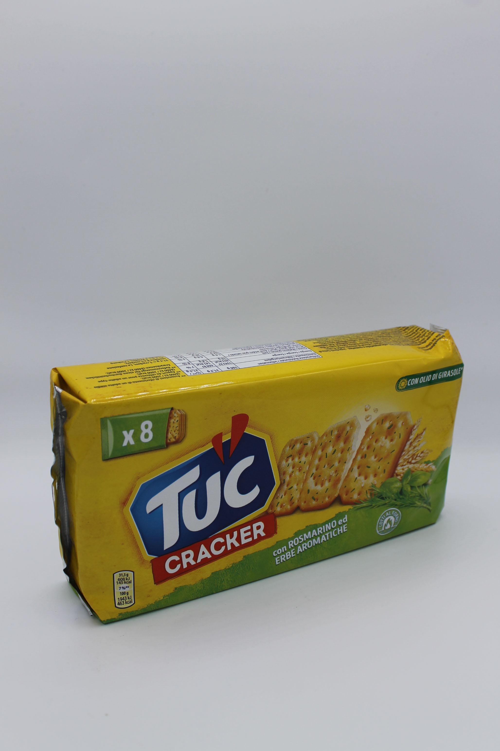 Saiwa tuc crackers rosmarino 250 gr.