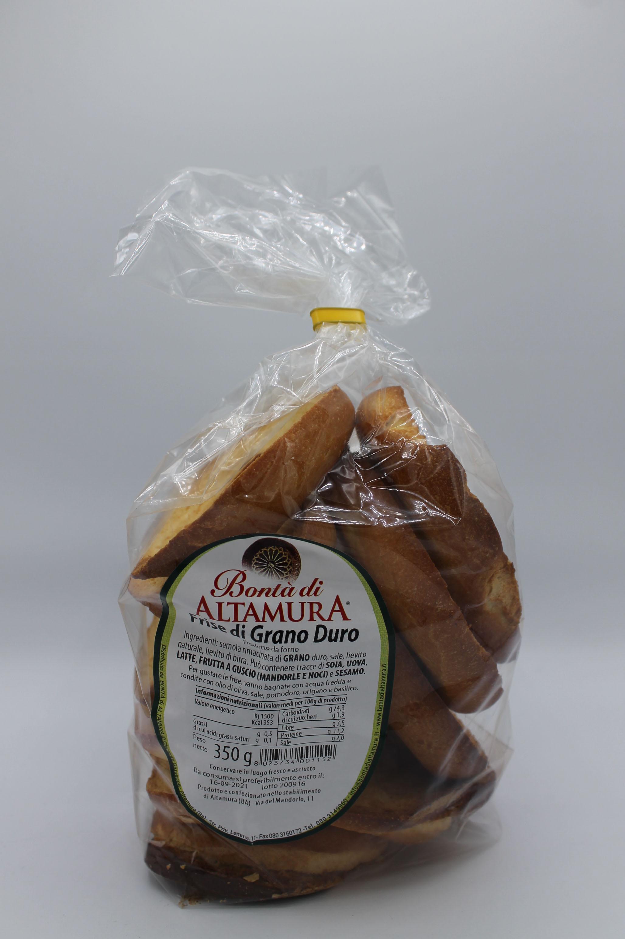 Bontà di Altamura frise grano duro 350 gr.