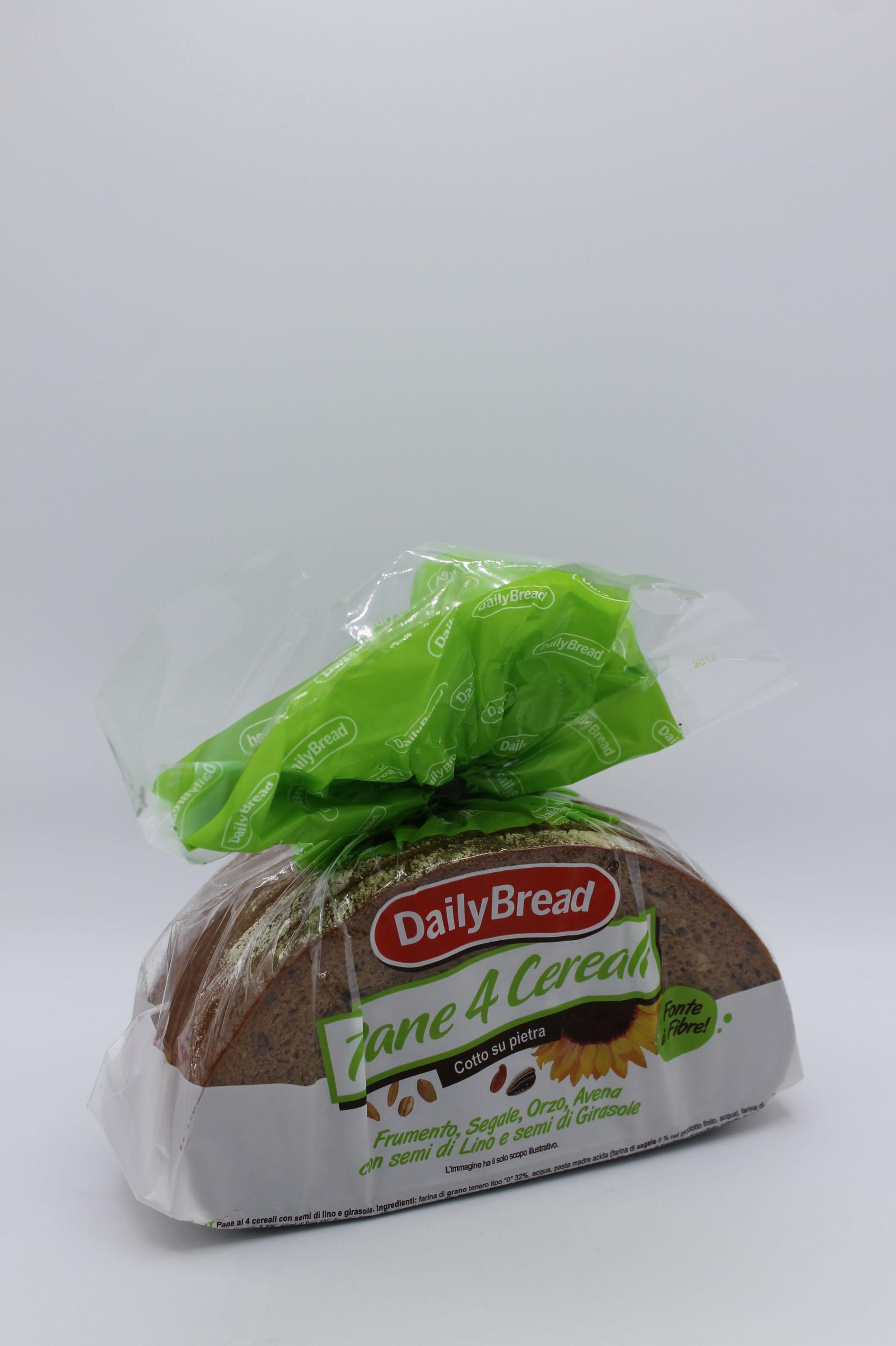 Daily Bread pane 4 cereali 500 gr.